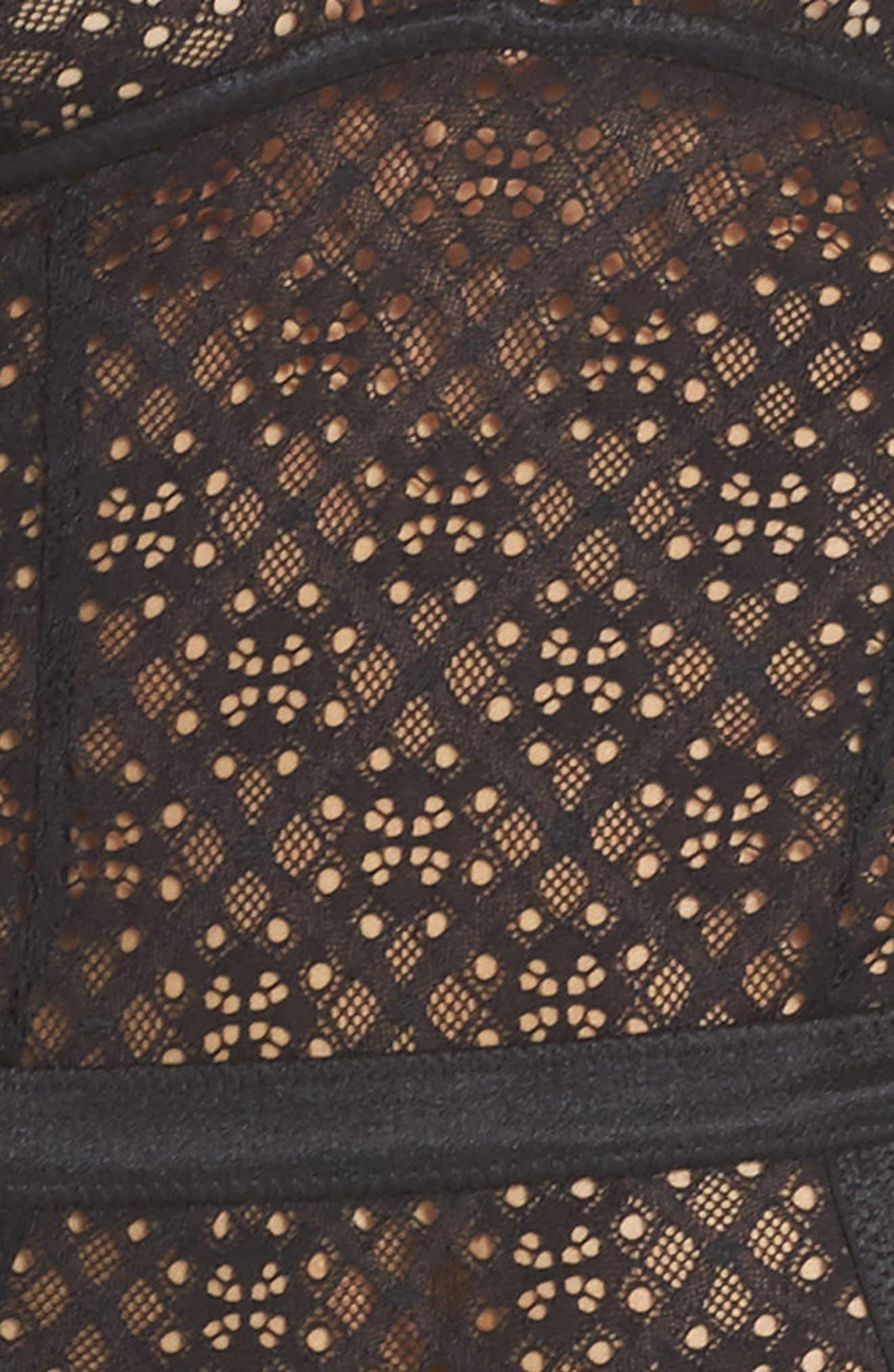 Thong Bodysuit,                             Alternate thumbnail 5, color,                             001