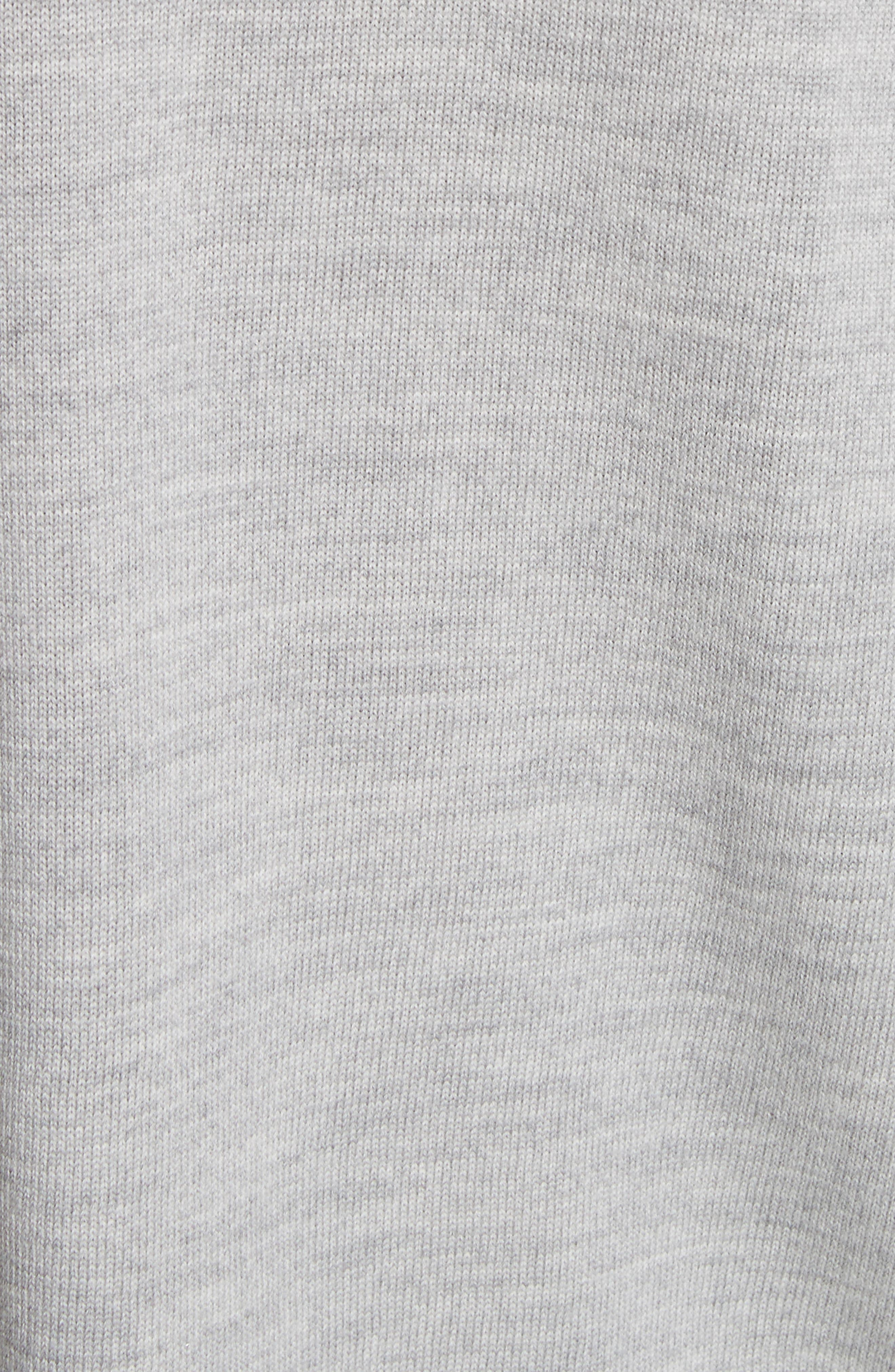 Layered Hem Wool Sweater,                             Alternate thumbnail 5, color,                             050