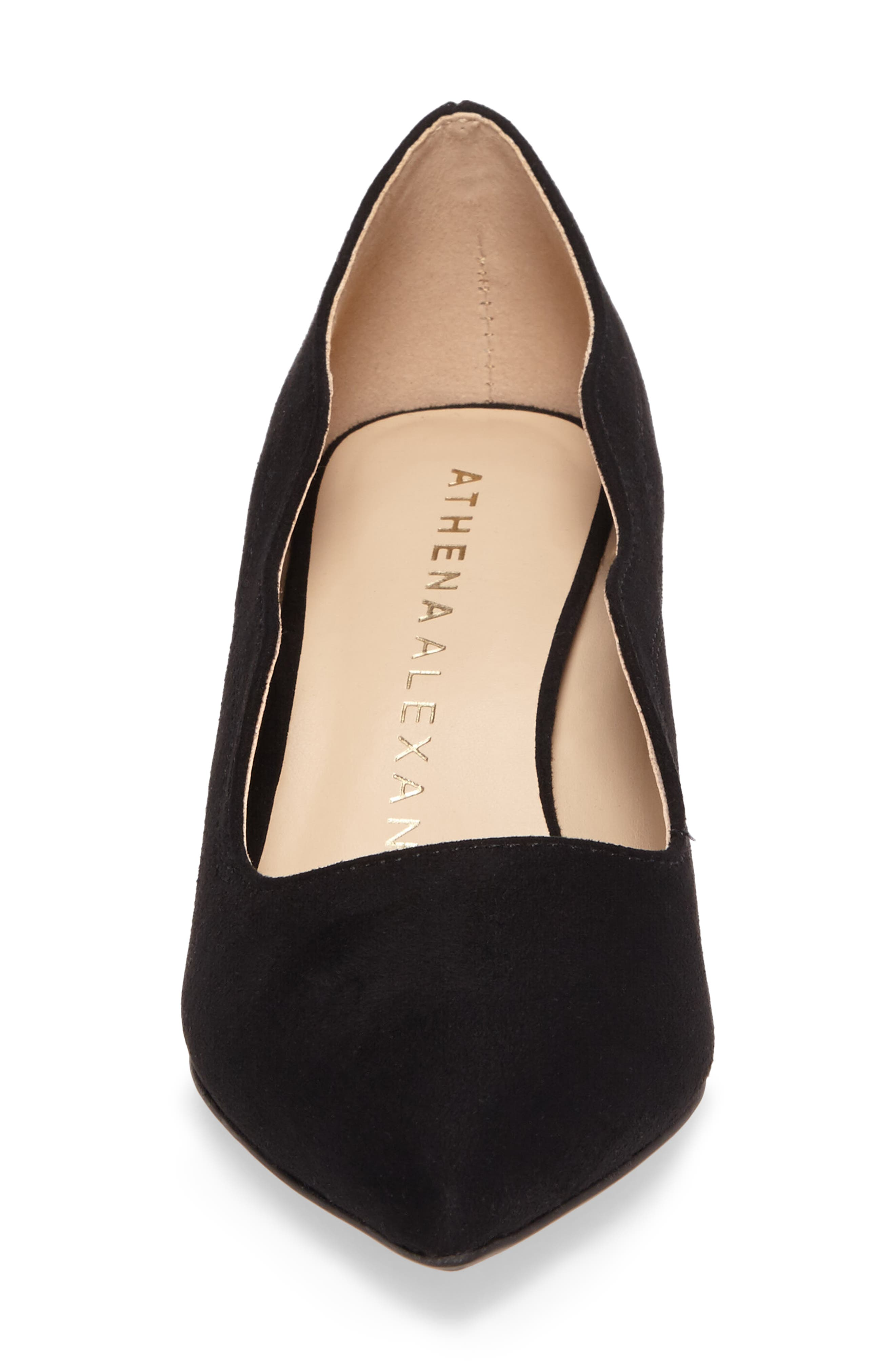 Stormm Pointy Toe Pump,                             Alternate thumbnail 4, color,                             003