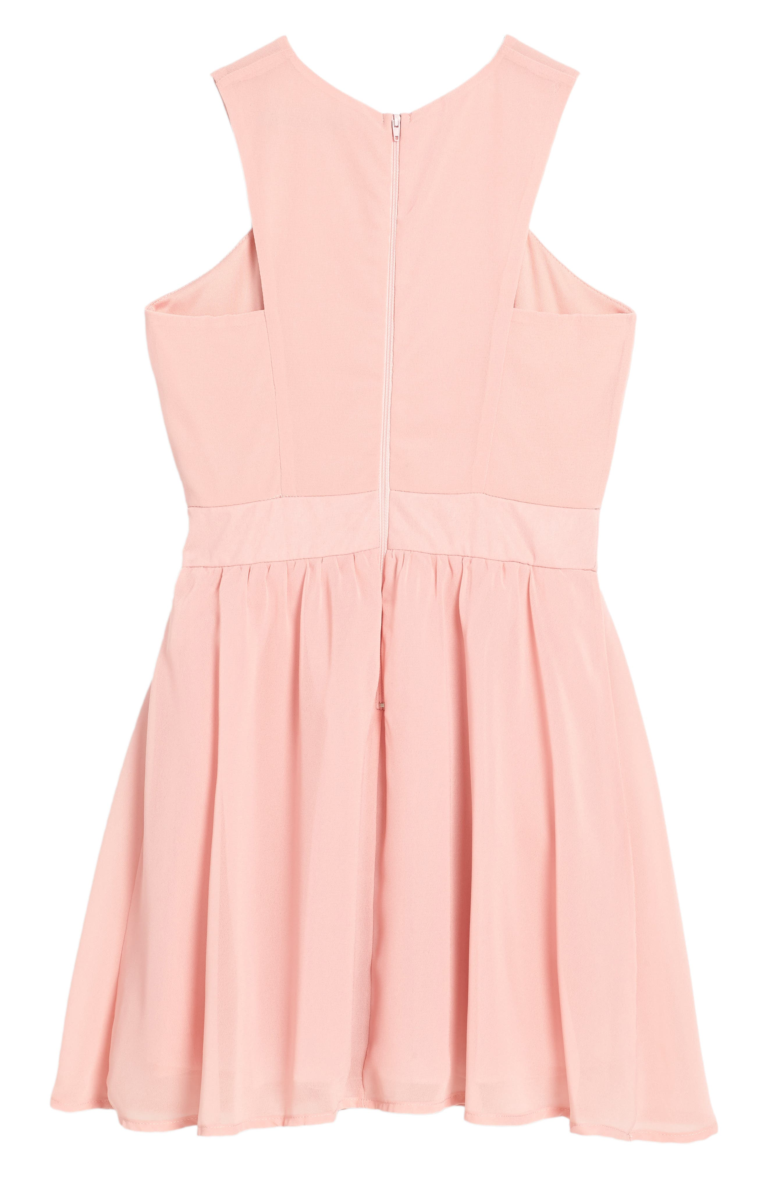 Camilla Sleeveless Dress,                             Alternate thumbnail 2, color,