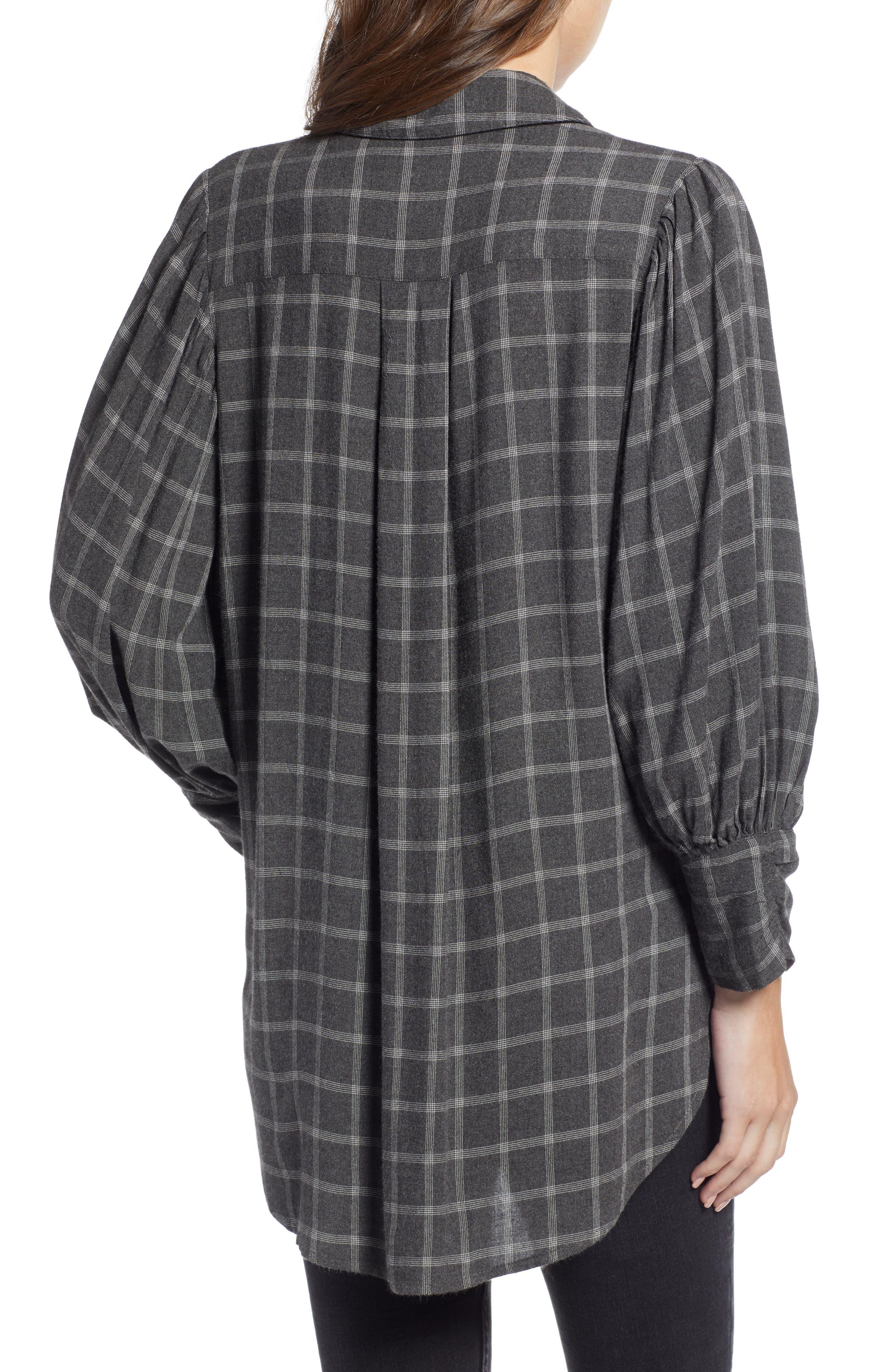 Full Sleeve Flannel Shirt,                             Alternate thumbnail 3, color,                             030