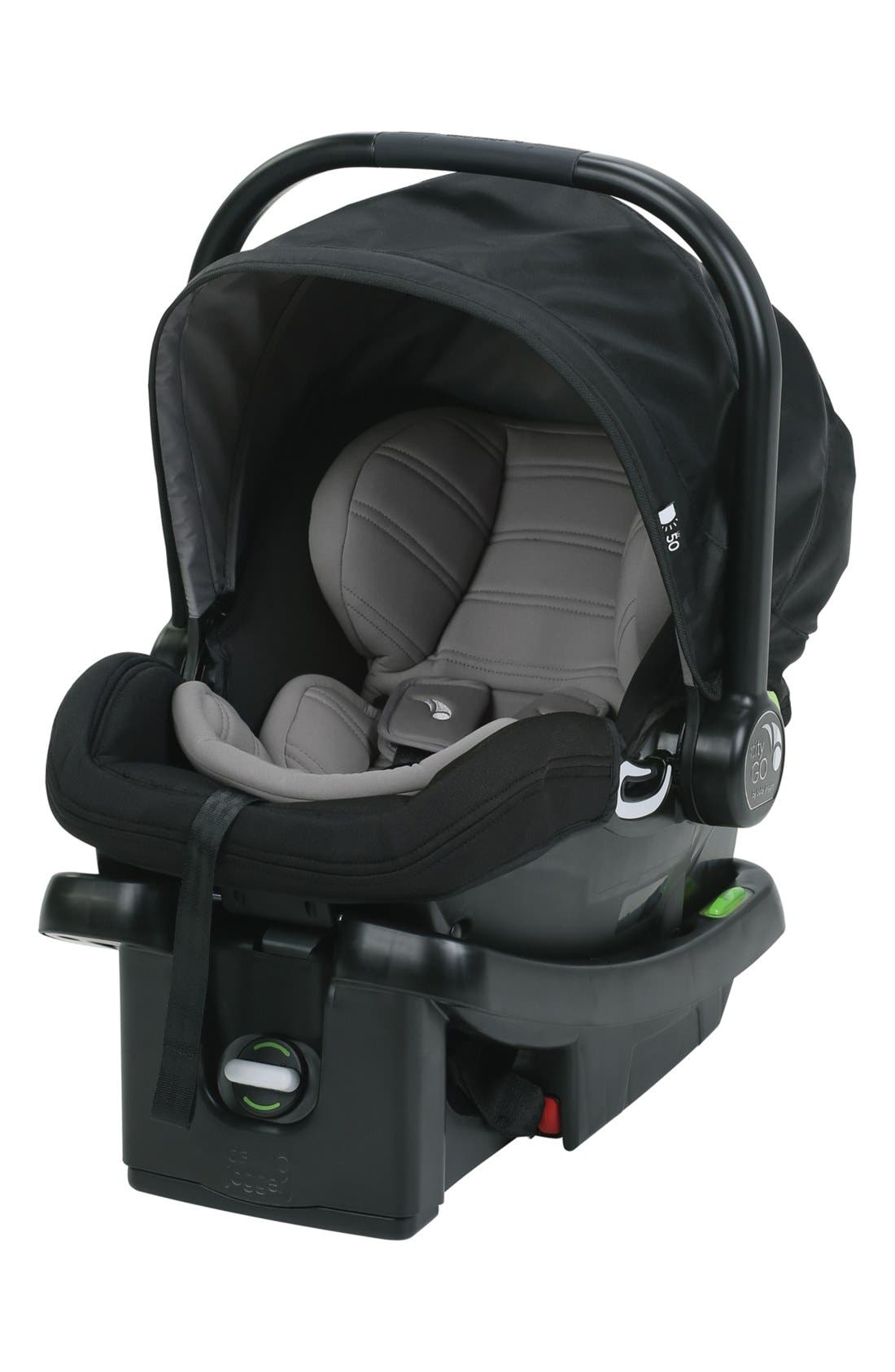 City GO<sup>™</sup> Car Seat,                         Main,                         color, BLACK
