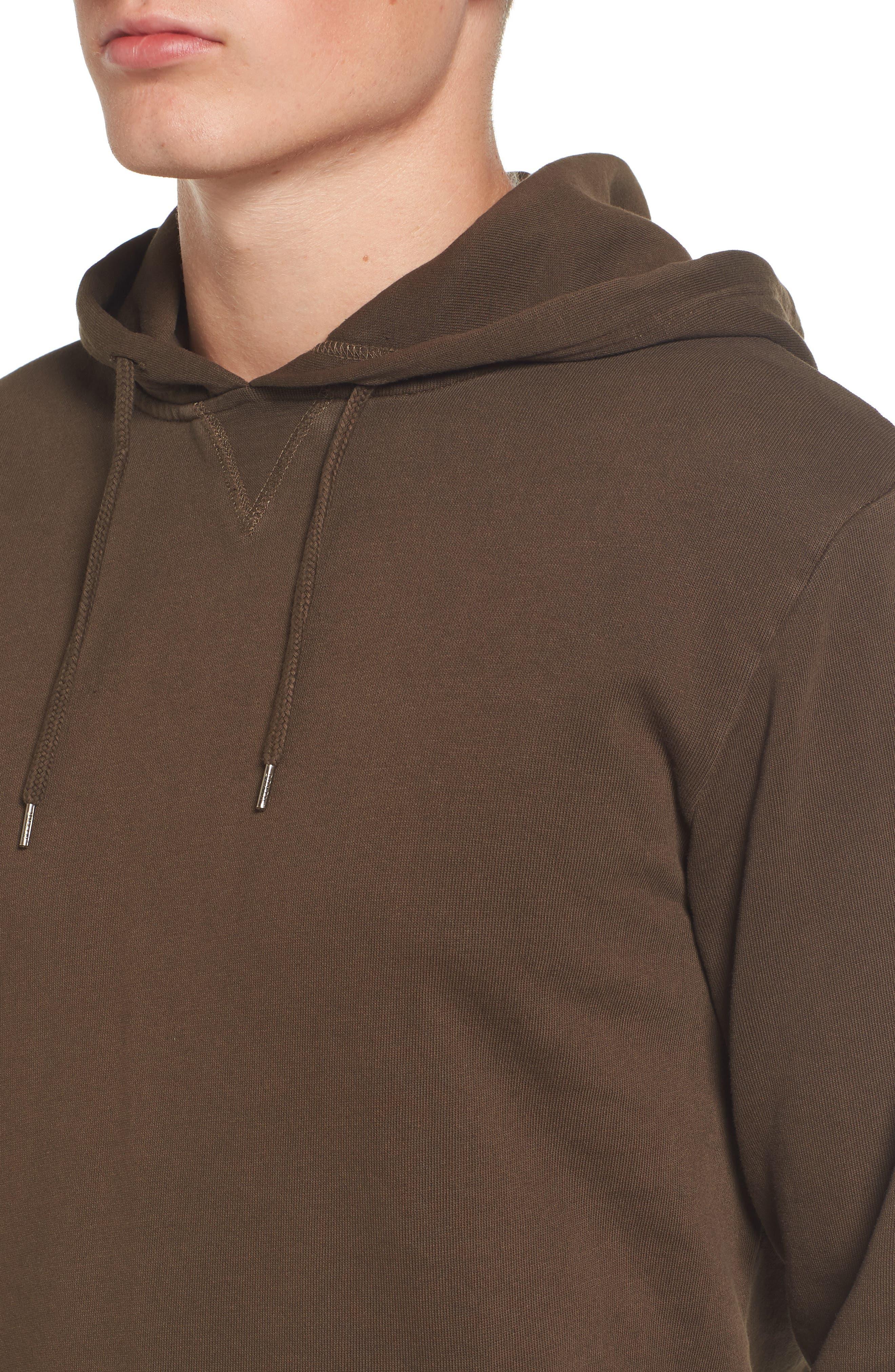 Hooded Fleece Sweatshirt,                             Alternate thumbnail 4, color,                             210