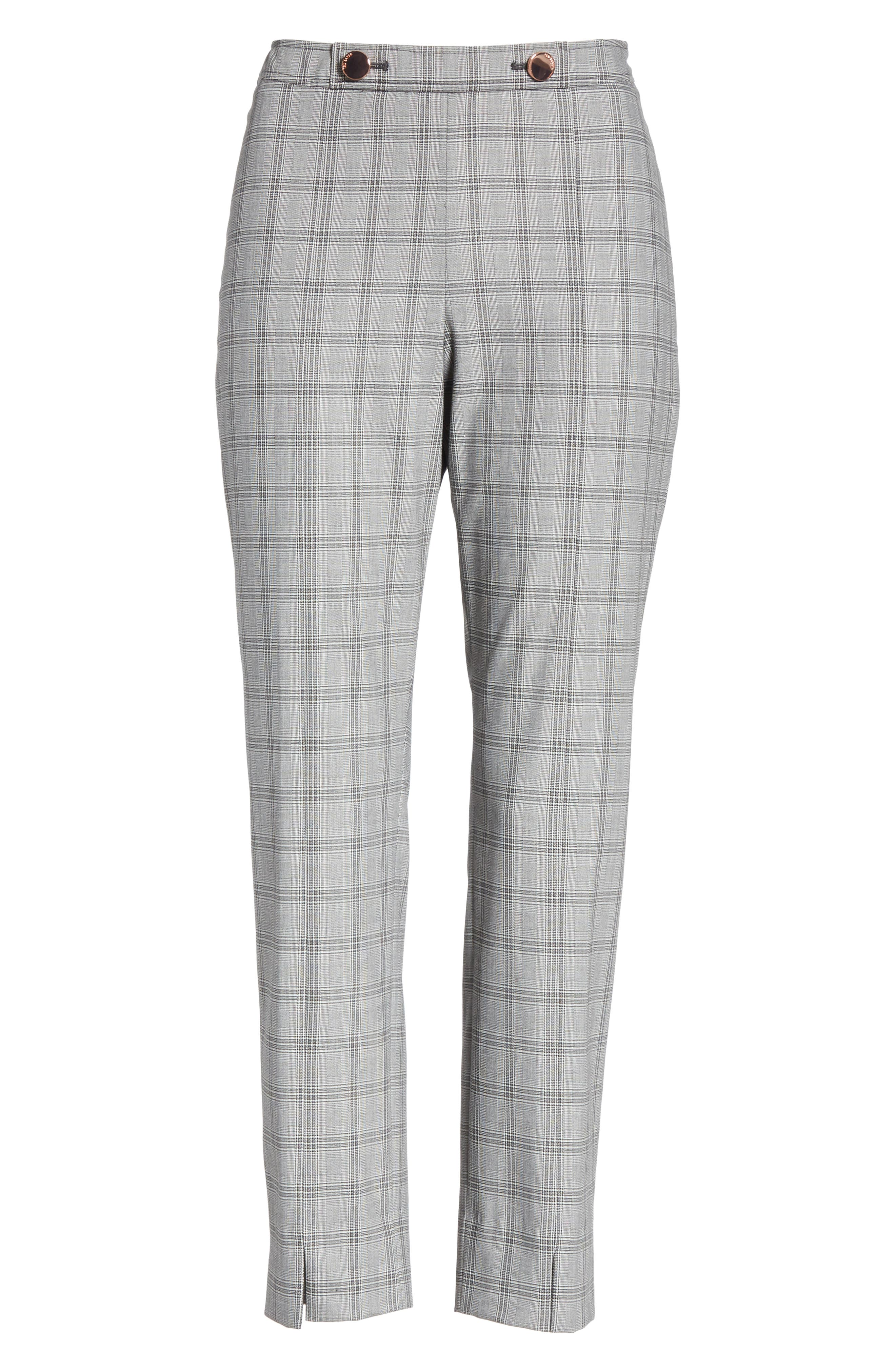 Ted Working Title Ristat Check Plaid Trousers,                             Alternate thumbnail 6, color,                             030