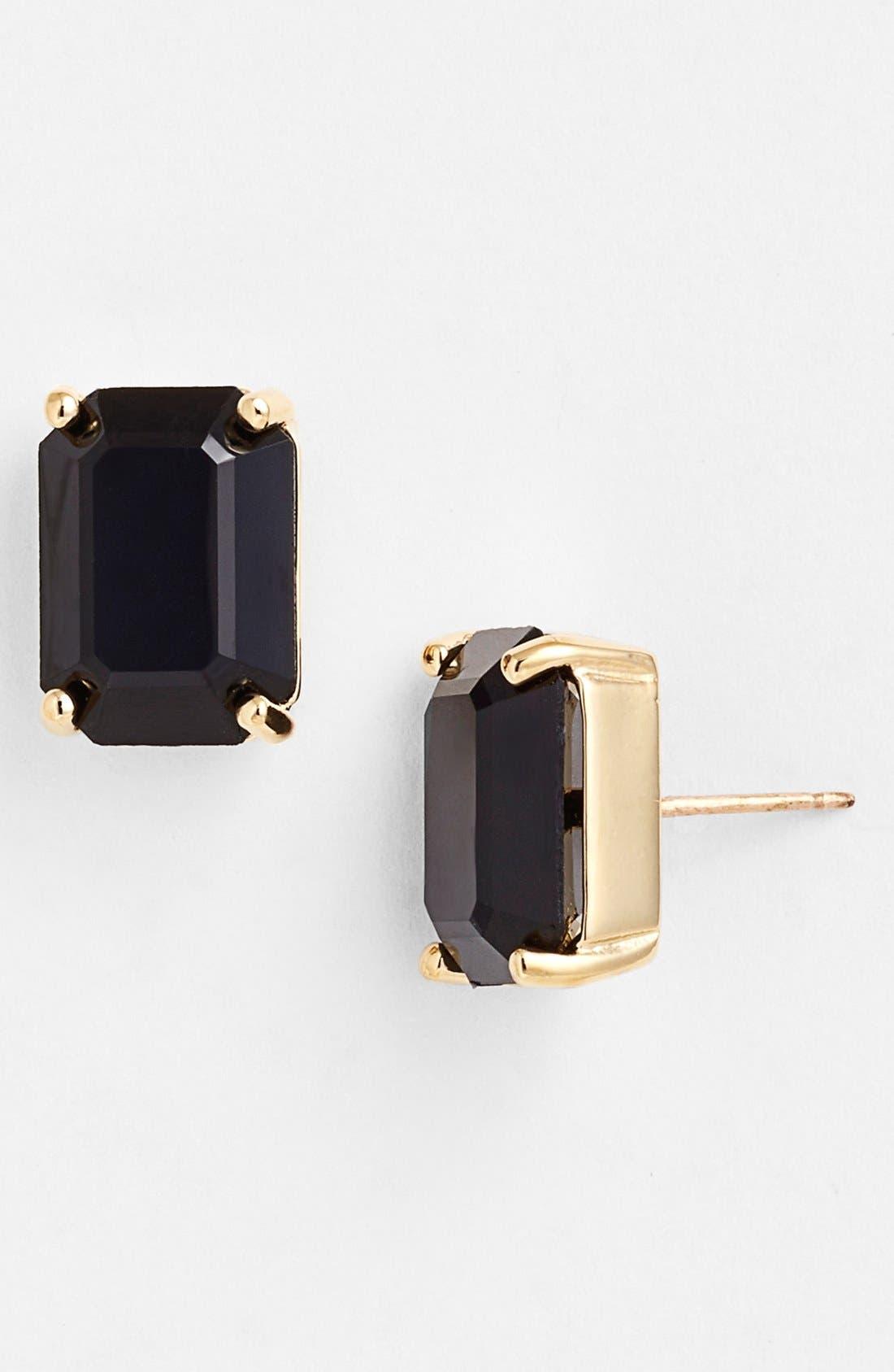 stone stud earrings,                         Main,                         color, 002