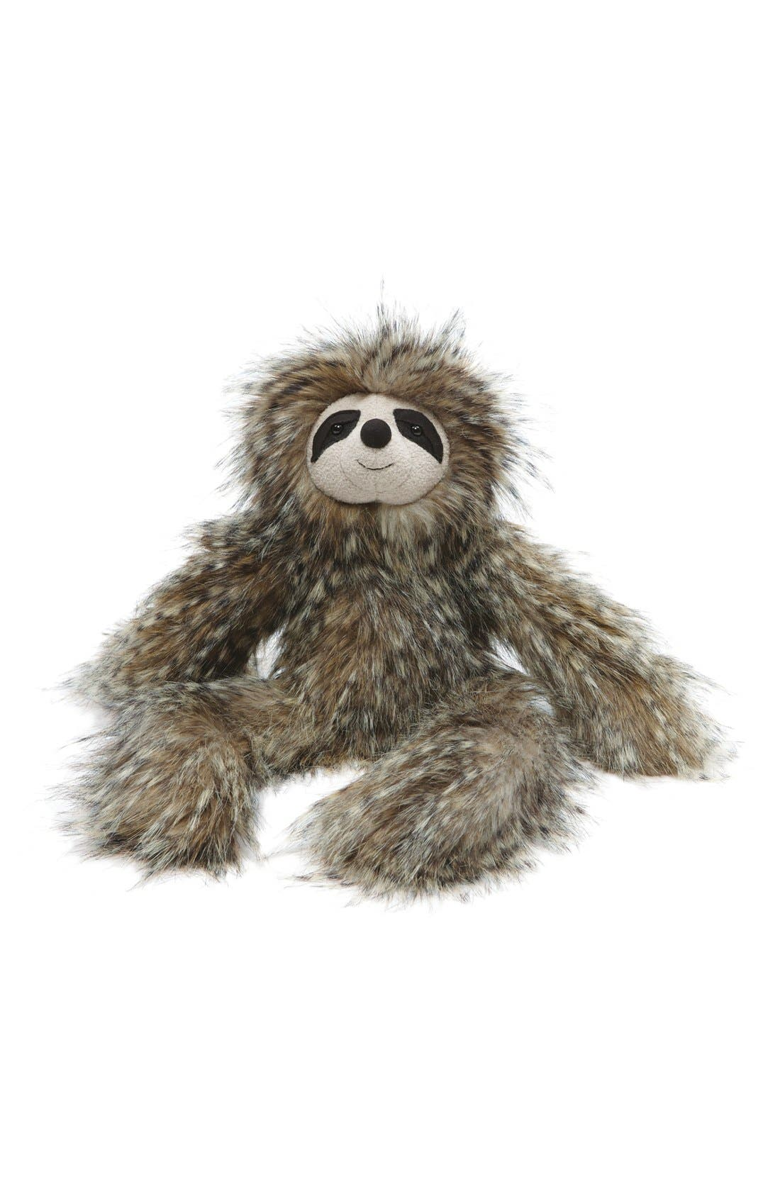 'Cyril Sloth' Stuffed Animal,                             Main thumbnail 1, color,                             060