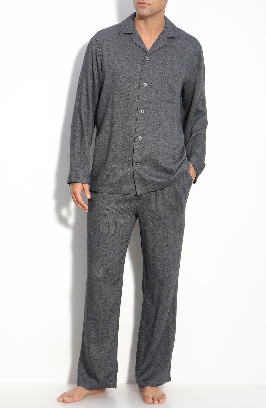 '824' Flannel Pajama Set,                             Main thumbnail 17, color,