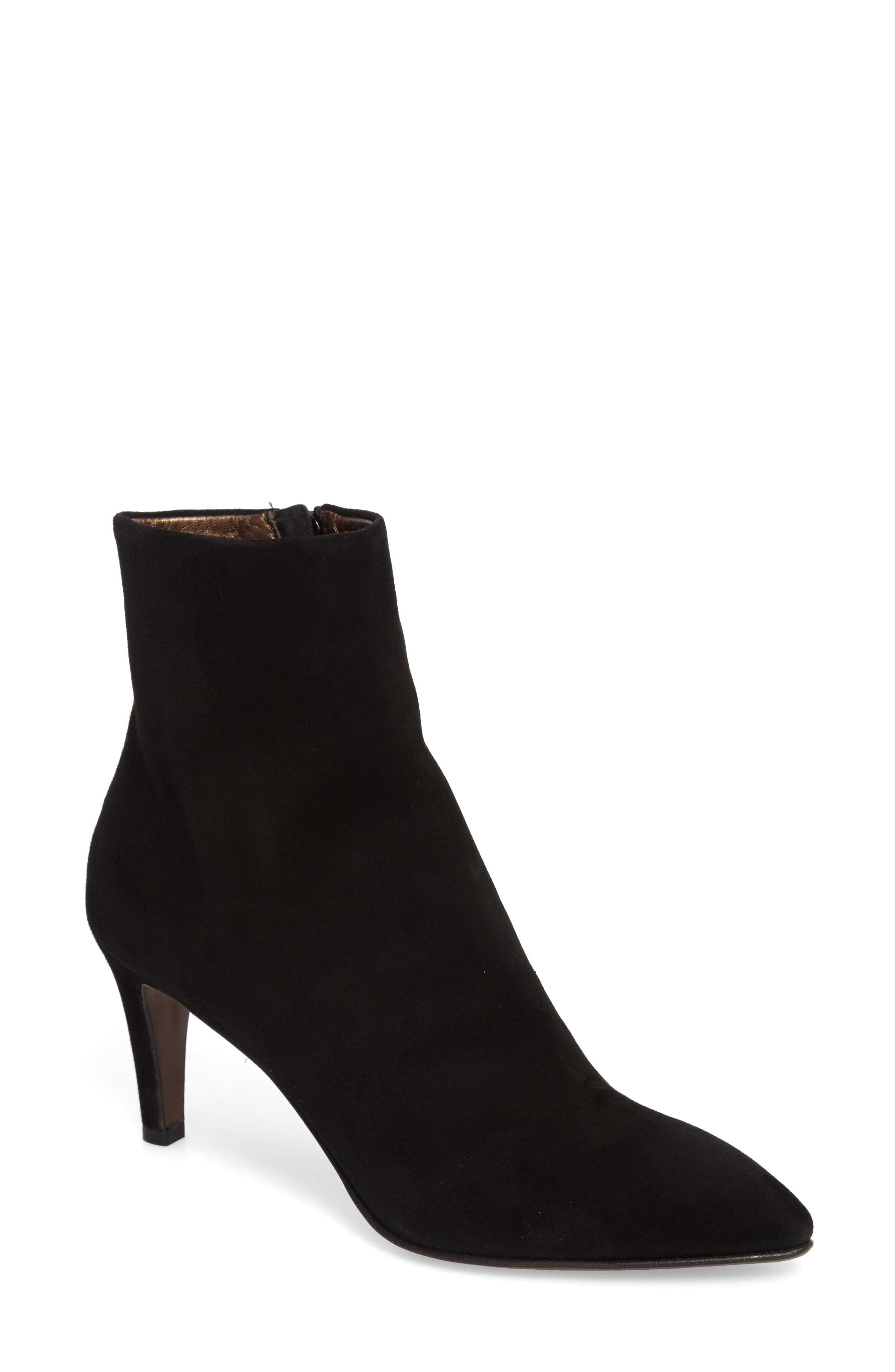 Pointy Toe Bootie,                         Main,                         color, 001