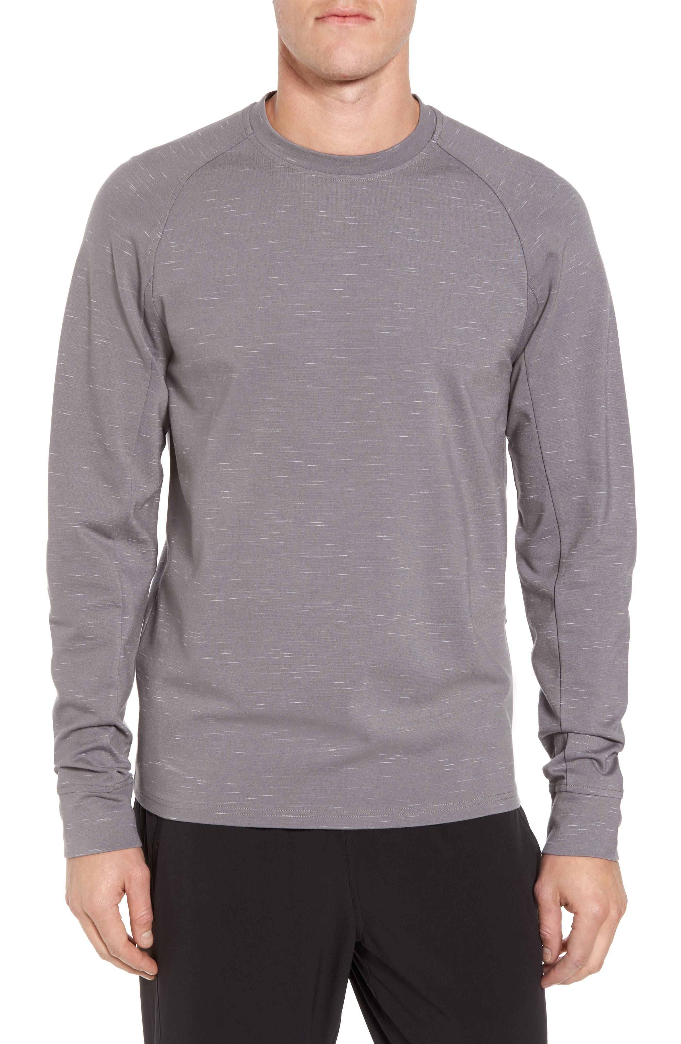 Fleece Crewneck Sweatshirt,                             Main thumbnail 2, color,