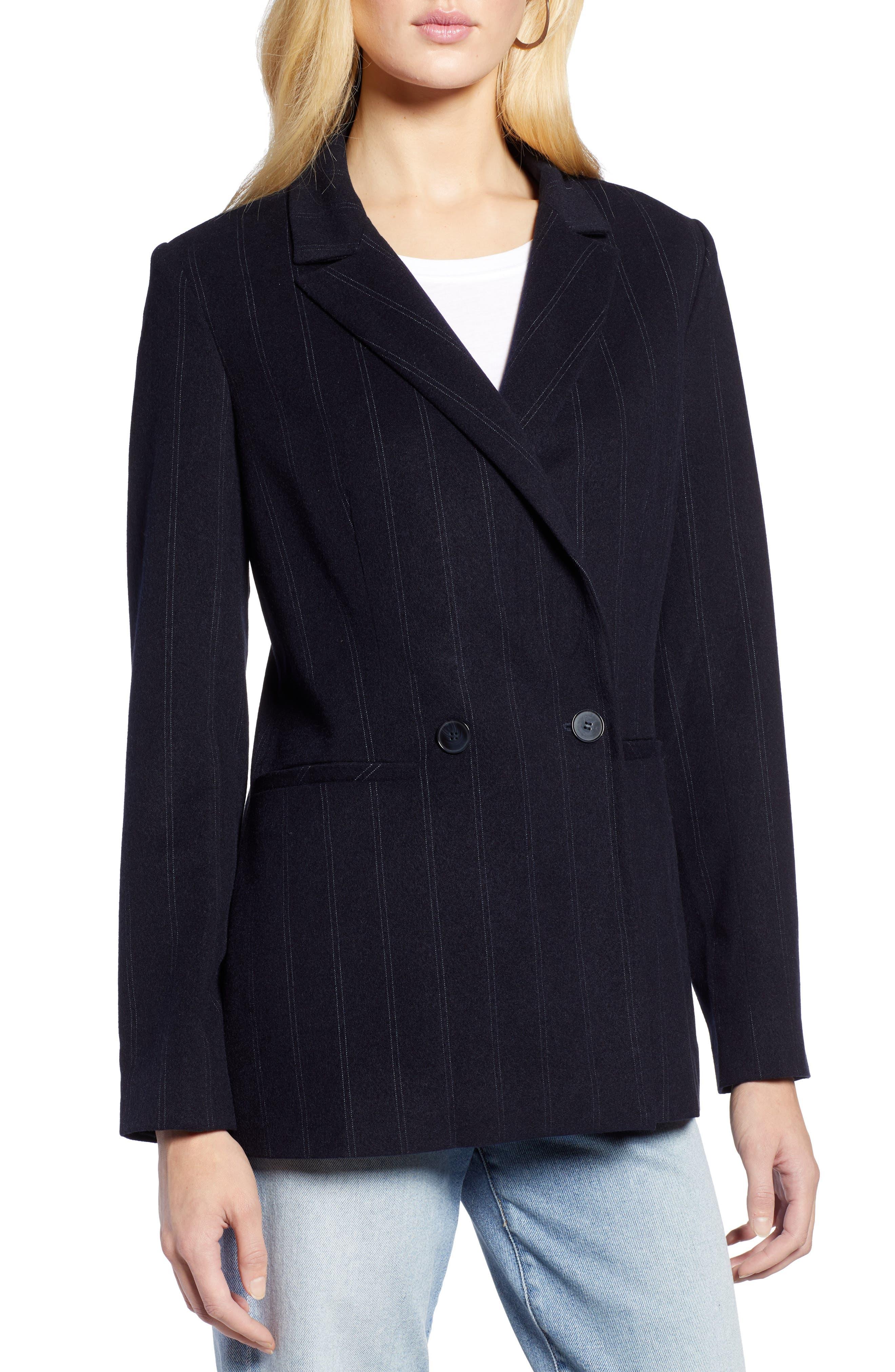 Stripe Suit Jacket,                             Alternate thumbnail 4, color,                             410