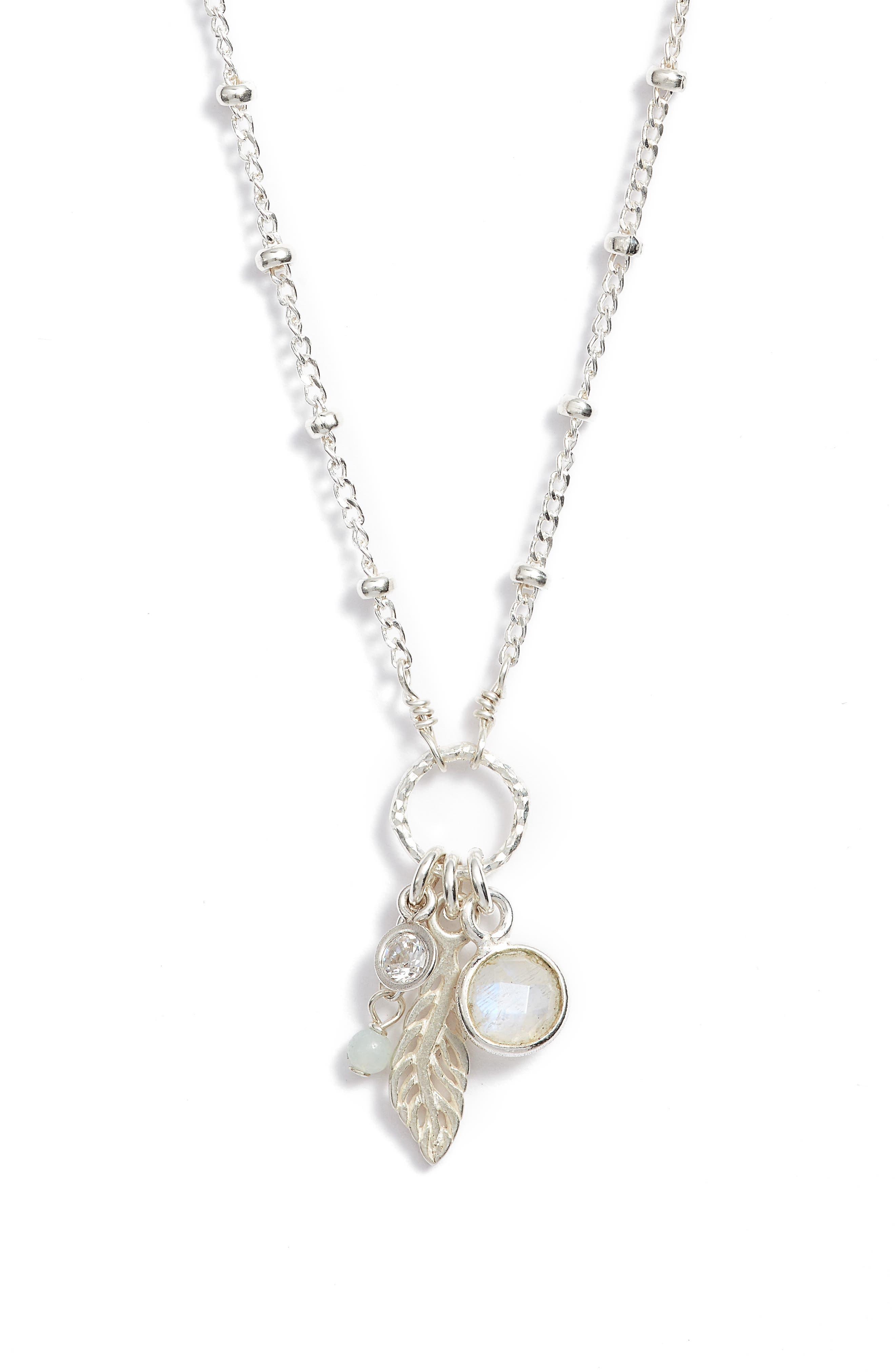 Featherlight Pendant Necklace,                             Alternate thumbnail 3, color,                             040