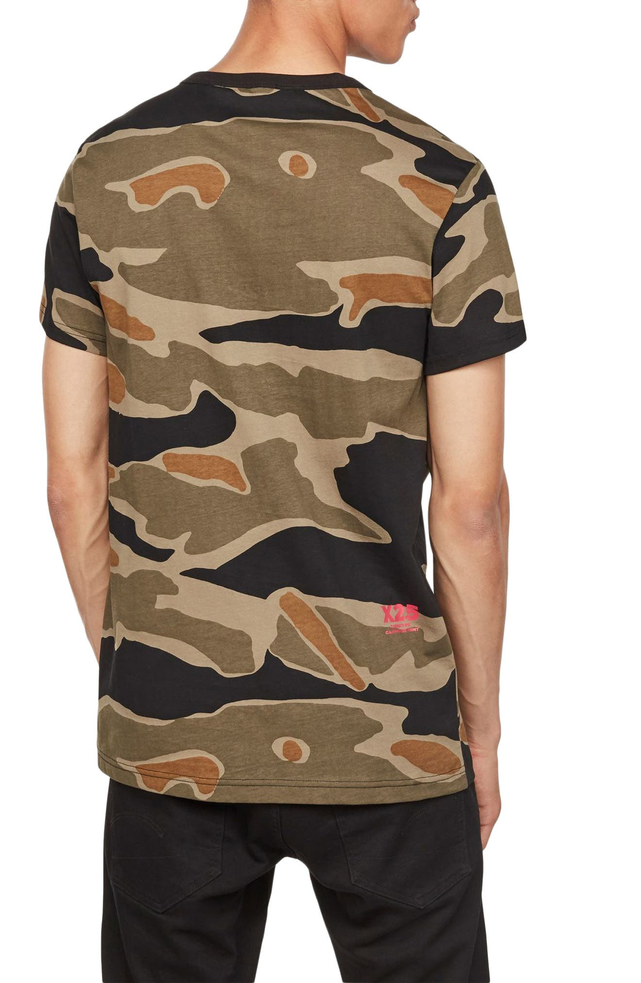 Tiger Camo Graphic T-Shirt,                             Alternate thumbnail 2, color,                             300