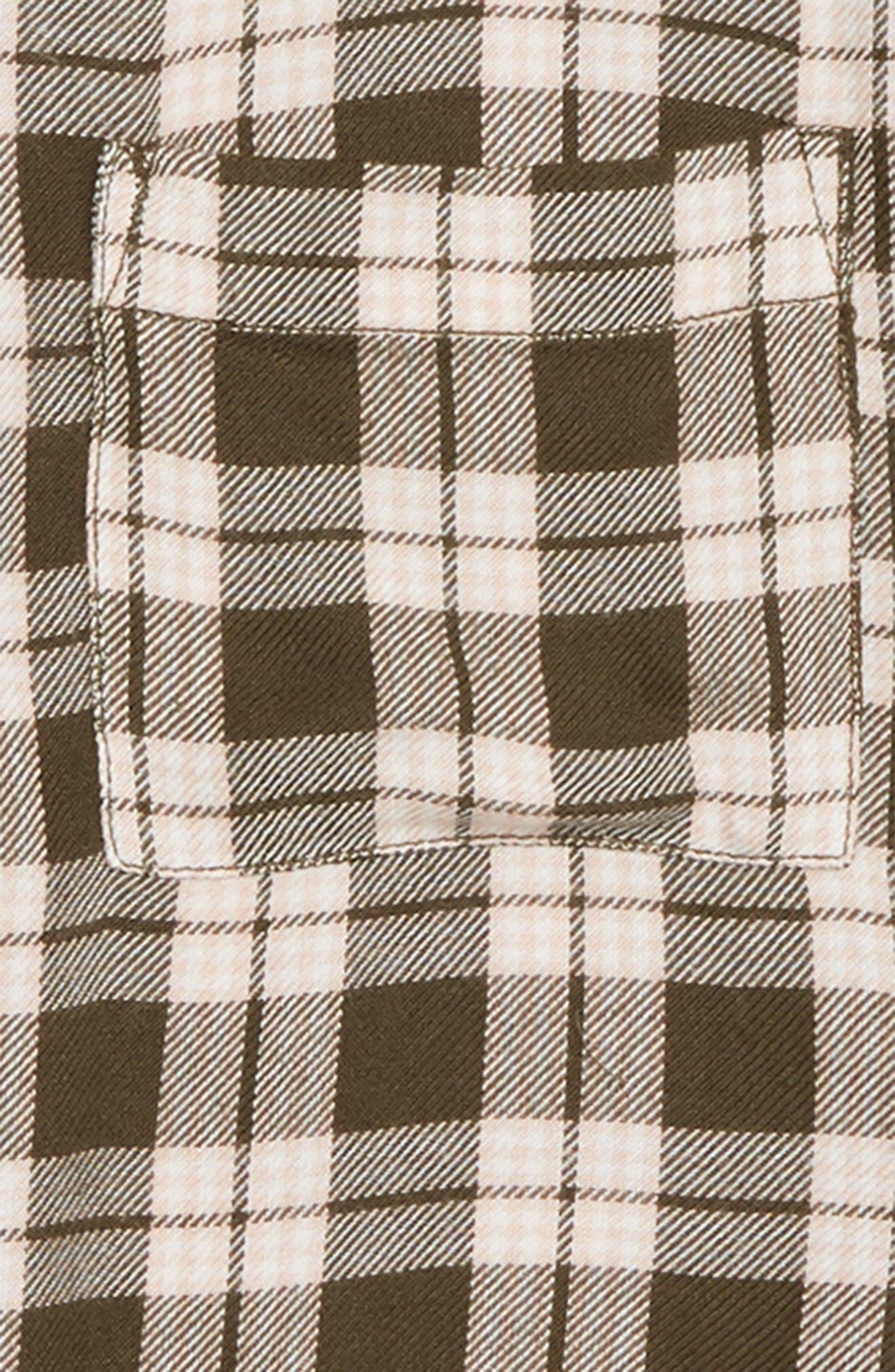 Plaid Flannel Shirt,                             Alternate thumbnail 2, color,                             311