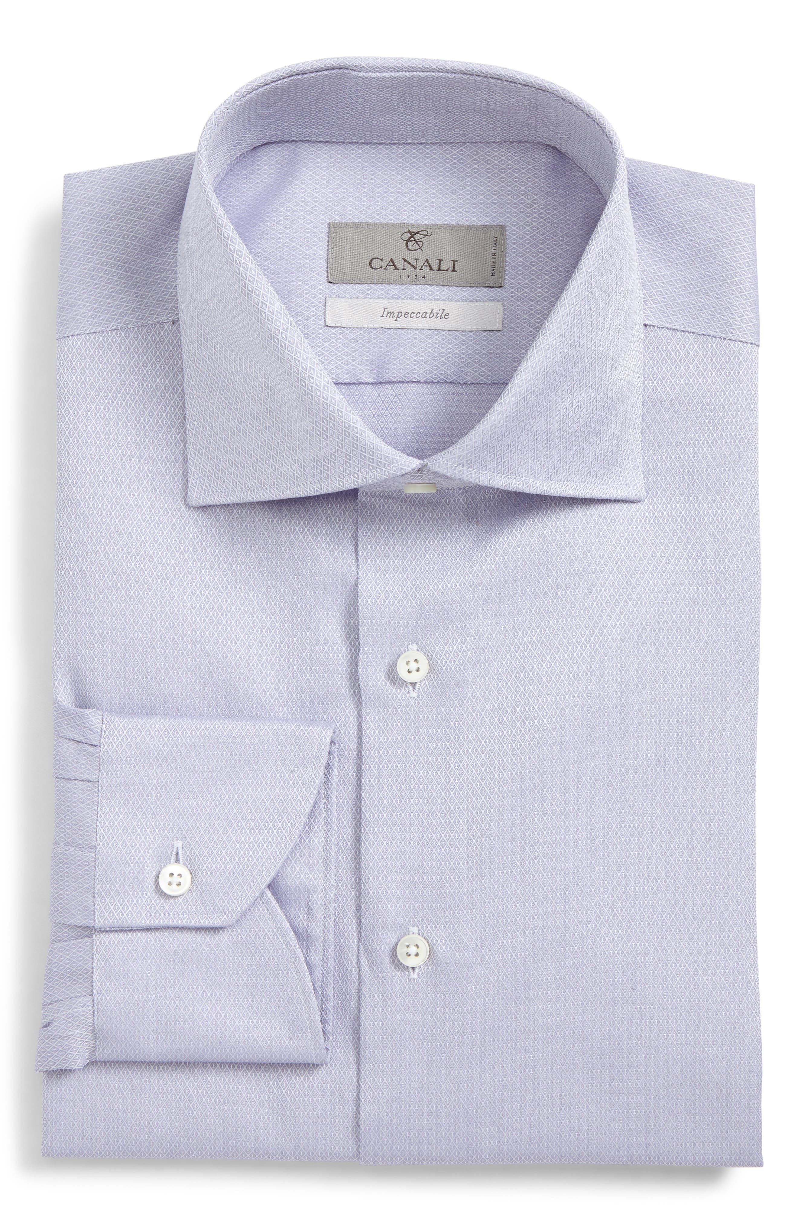 Regular Fit Geometric Dress Shirt,                         Main,                         color, 530