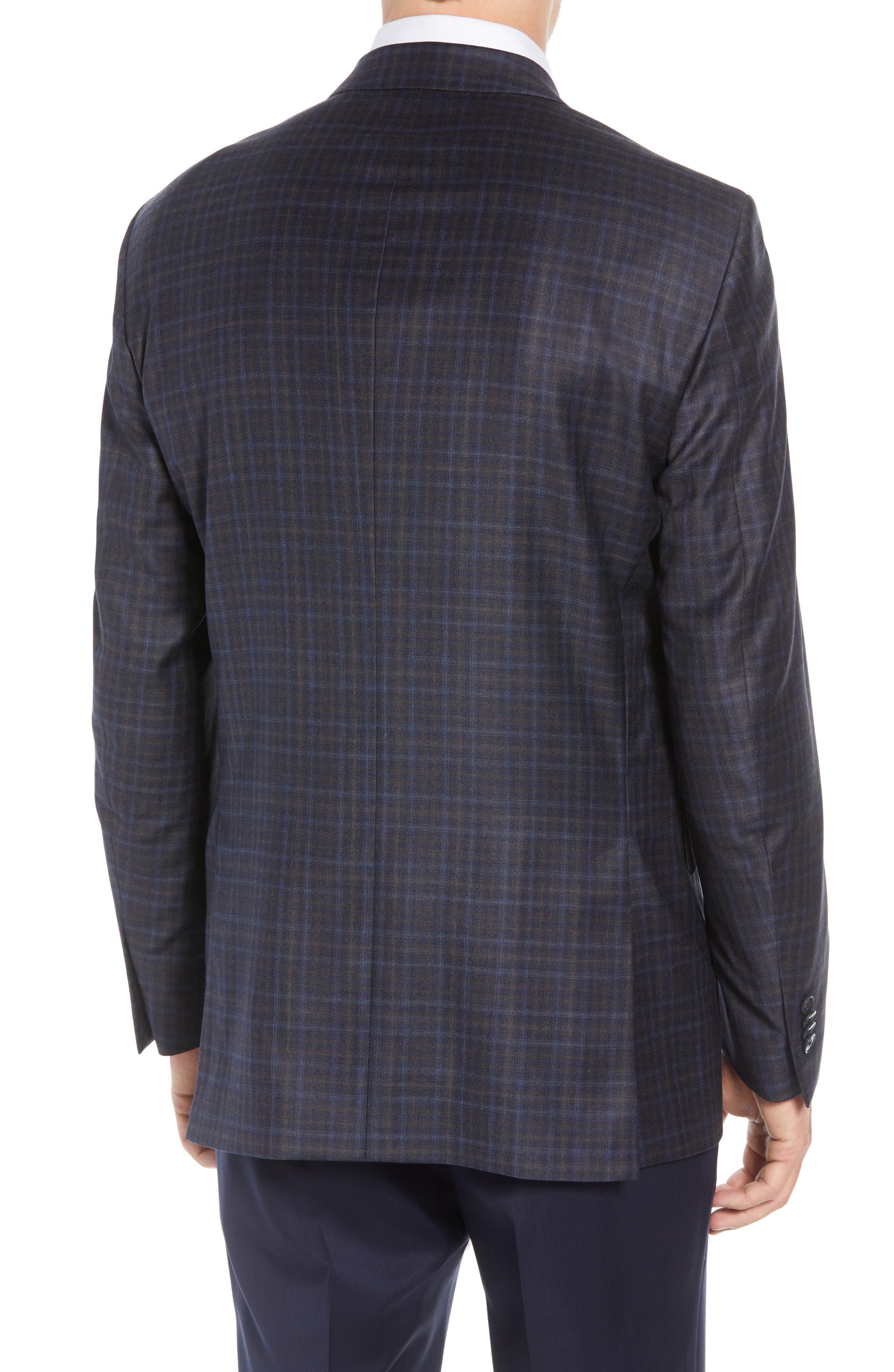 Flynn Classic Fit Wool Sport Coat,                             Alternate thumbnail 2, color,                             NAVY