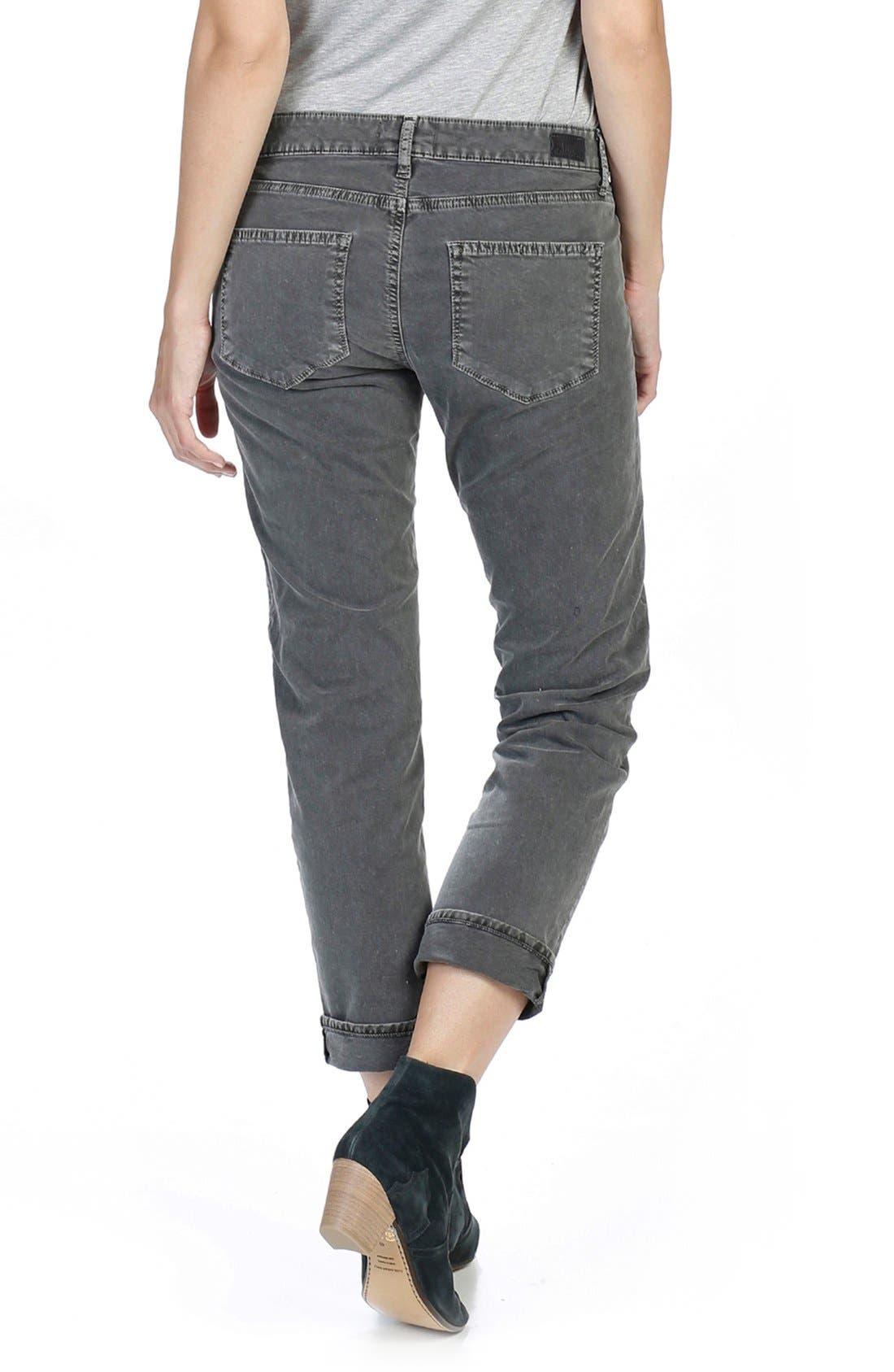 Brigitte Crop Boyfriend Jeans,                             Alternate thumbnail 10, color,