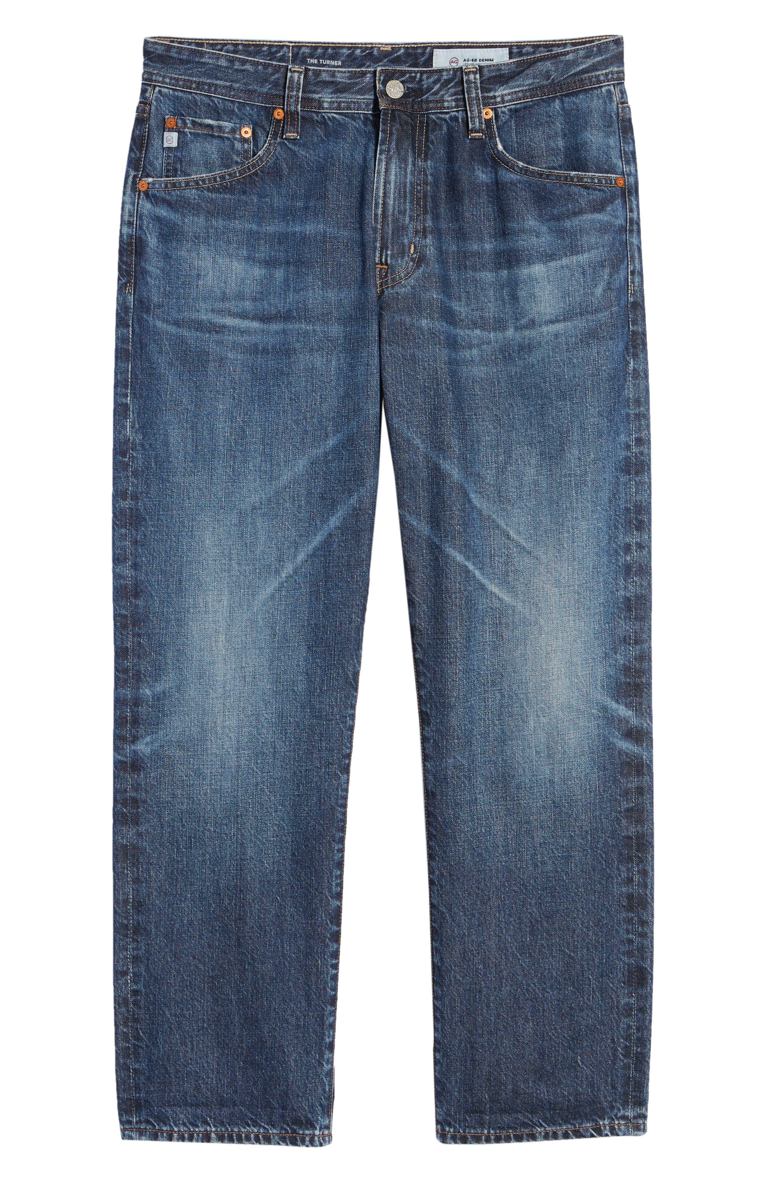 Turner Crop Jeans,                             Alternate thumbnail 6, color,                             5 YEARS WAYFARER