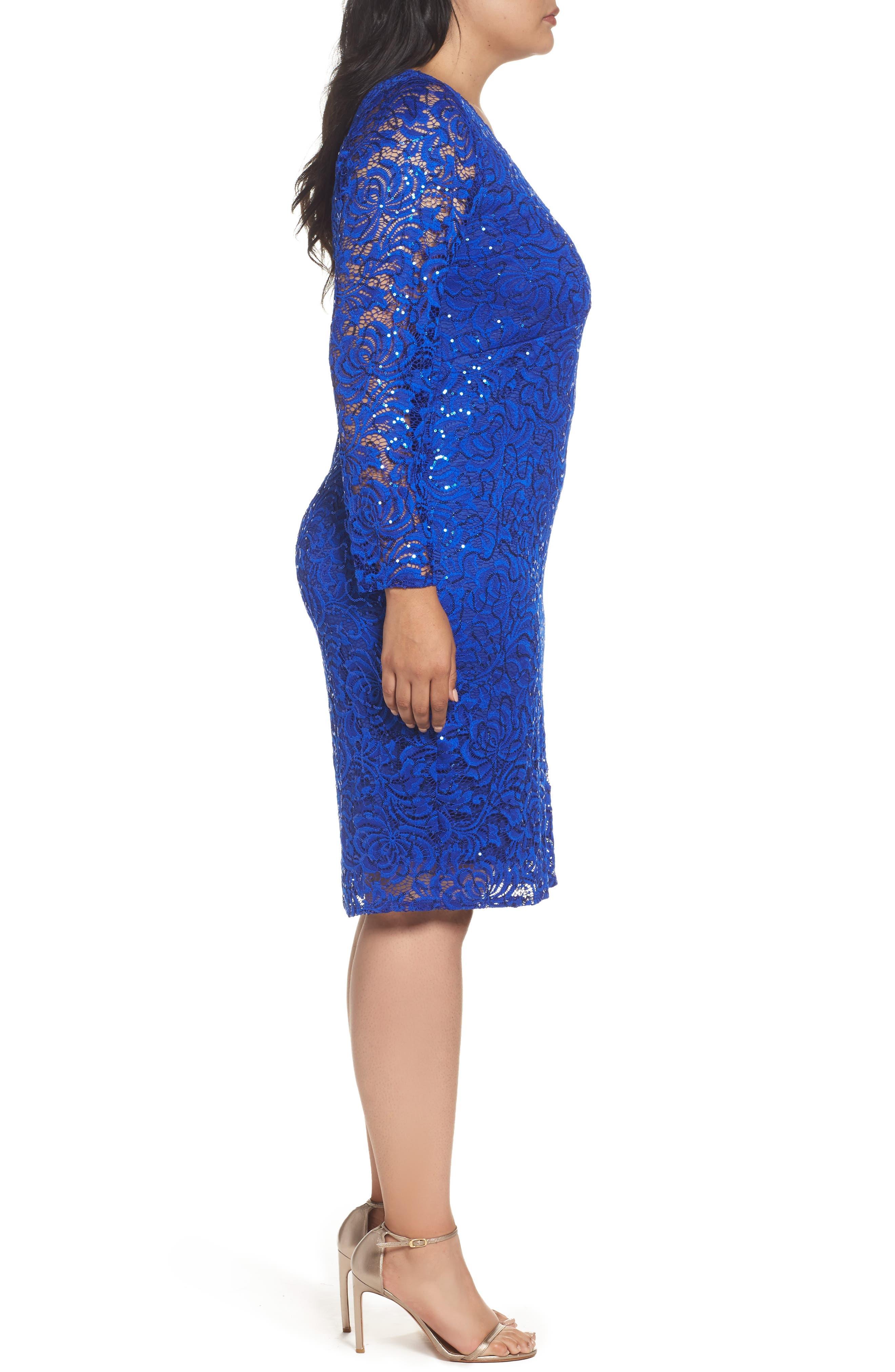 Lace Sheath Dress,                             Alternate thumbnail 8, color,