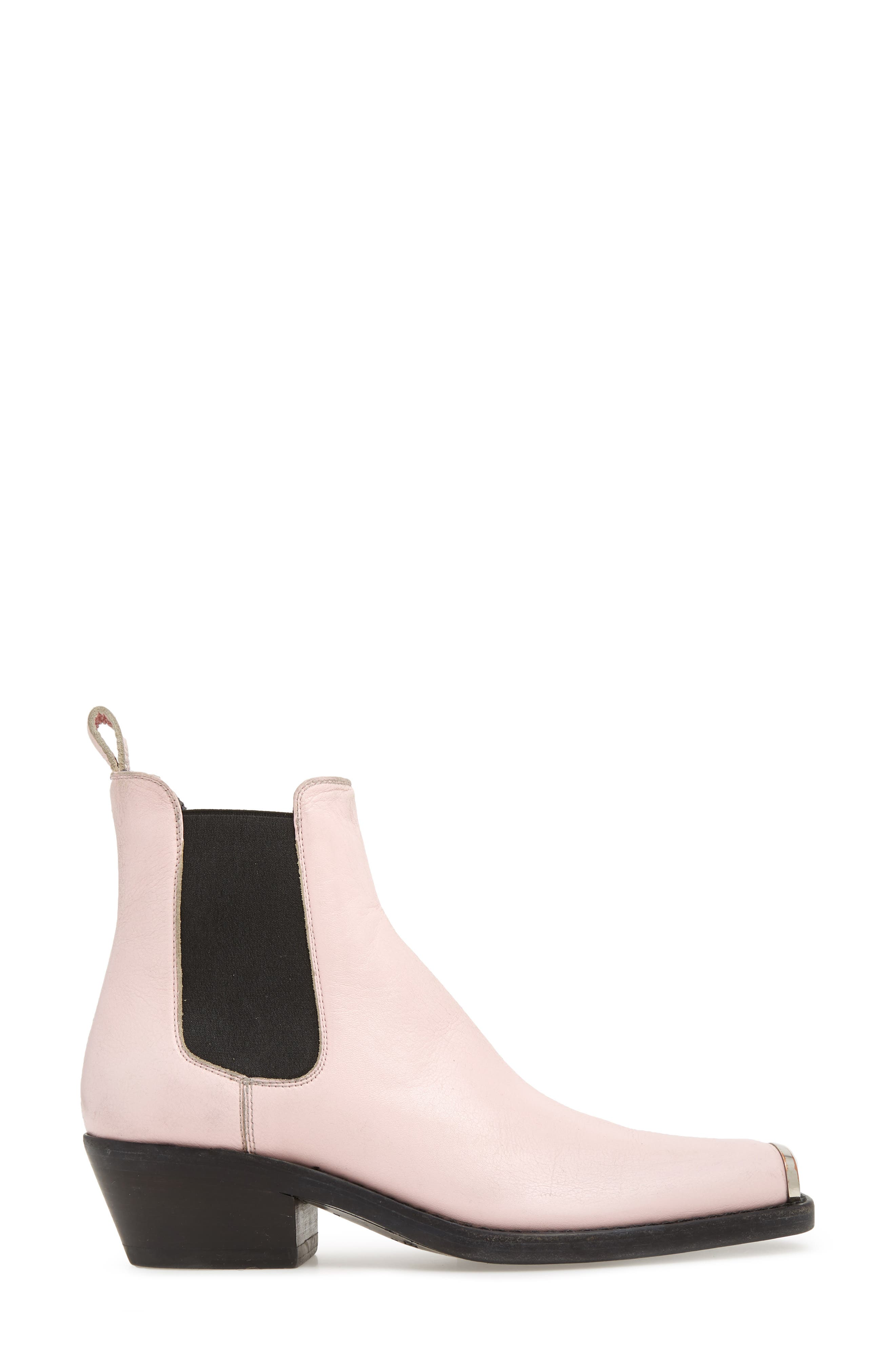 Western Claire Chelsea Boot,                             Alternate thumbnail 3, color,                             PINK
