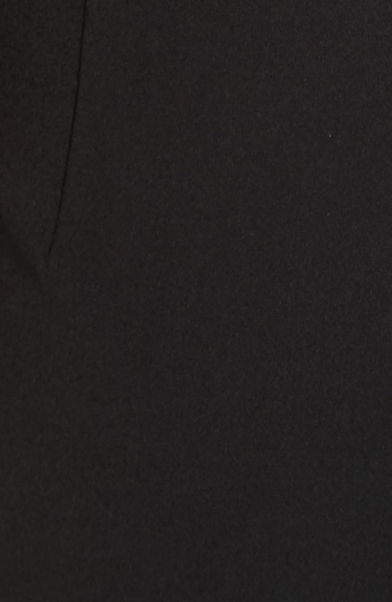 Riki Cutout Sheath Dress,                             Alternate thumbnail 6, color,                             001