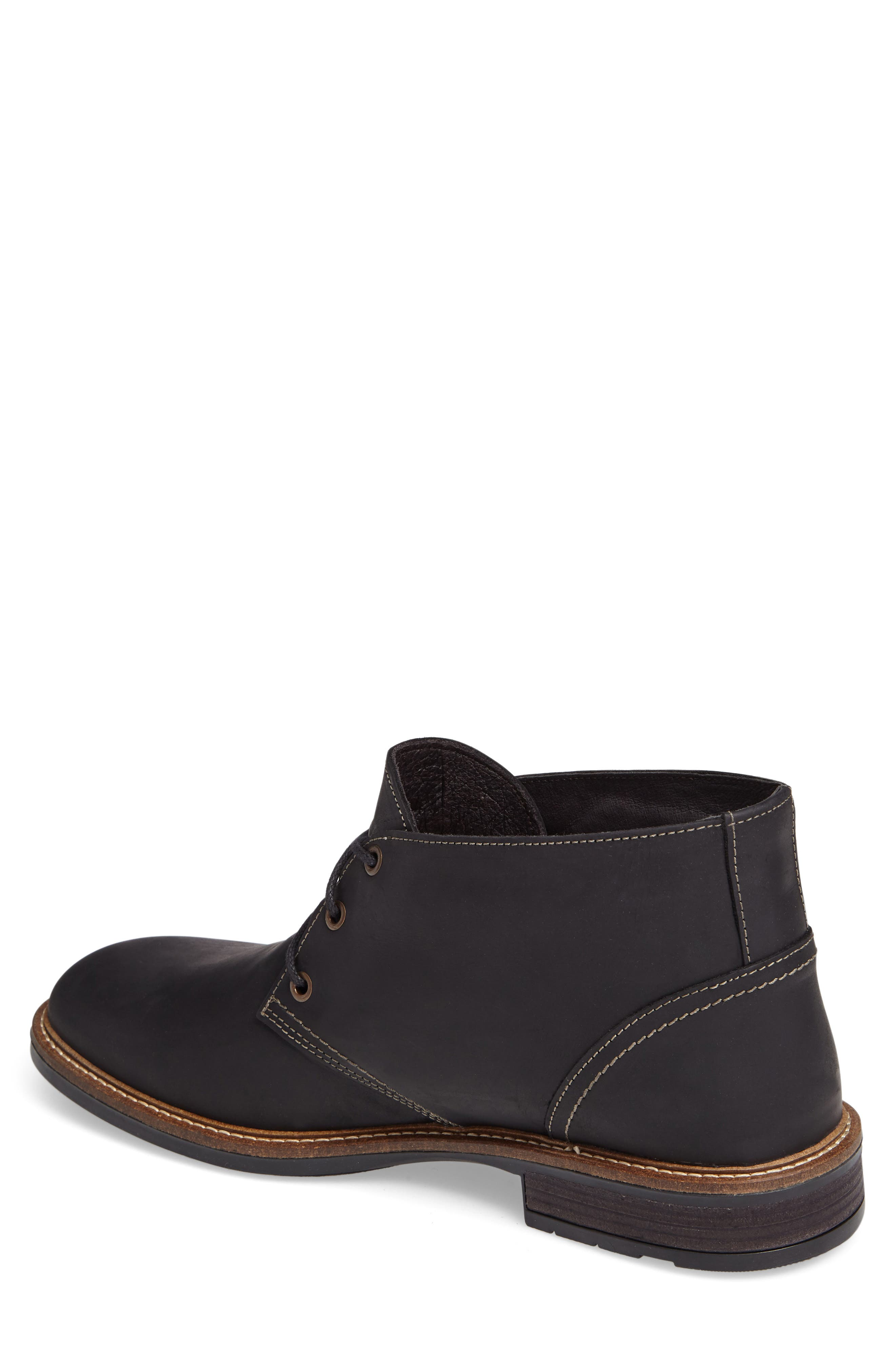 Pilot Chukka Boot,                             Alternate thumbnail 2, color,                             COAL NUBUCK LEATHER