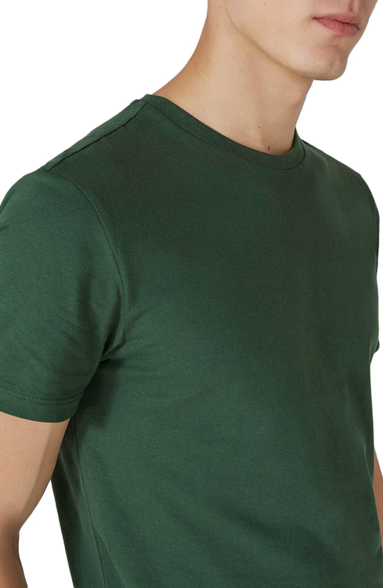 Slim Fit Crewneck T-Shirt,                             Alternate thumbnail 200, color,