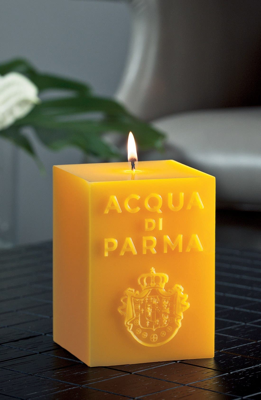 'Red' Cube Candle,                             Alternate thumbnail 2, color,                             NO COLOR