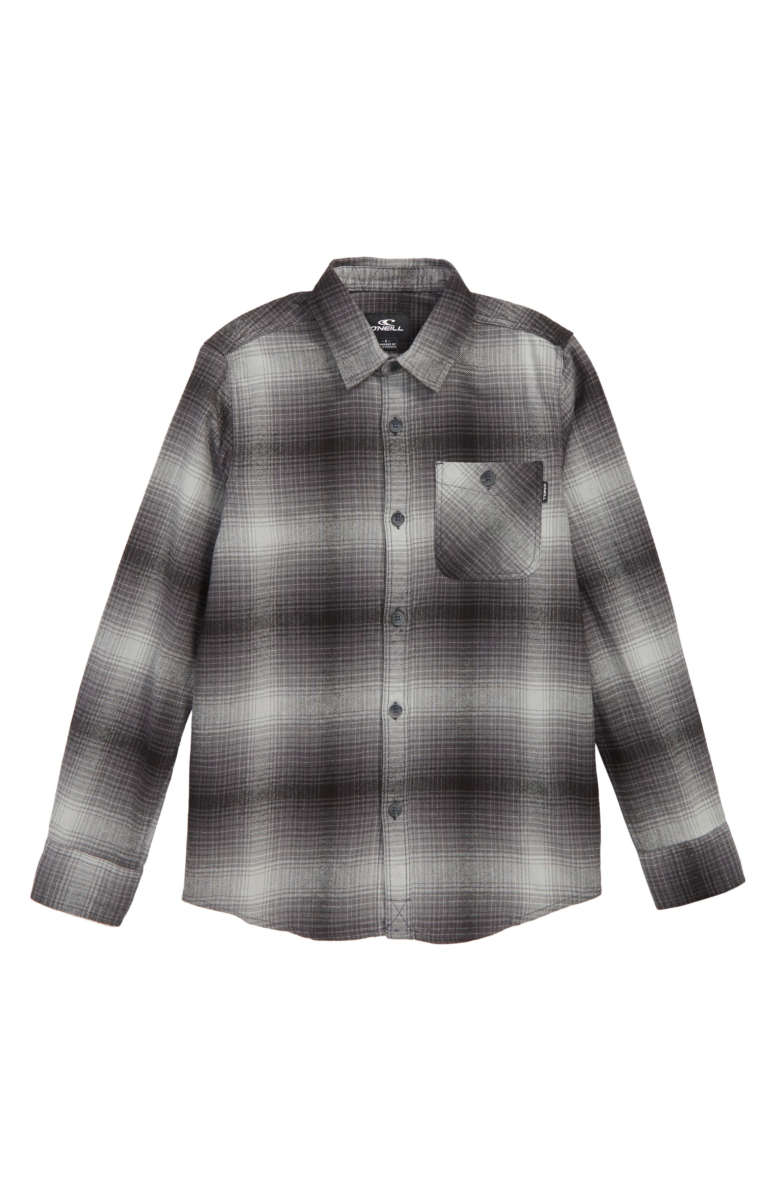 Dillishaw Flannel Shirt,                             Main thumbnail 1, color,                             001