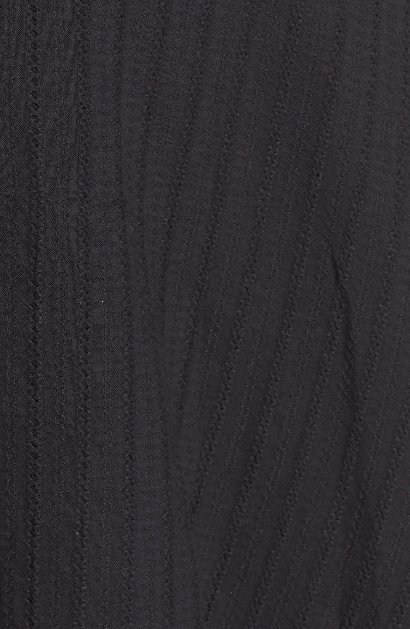 Kasey Peplum Fit & Flare Dress,                             Alternate thumbnail 6, color,