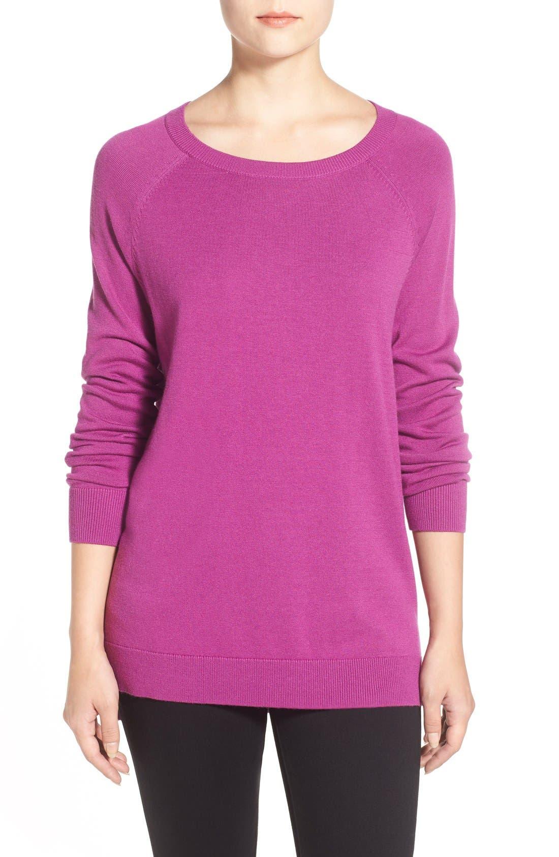 Raglan Crewneck Sweater,                             Main thumbnail 1, color,                             510