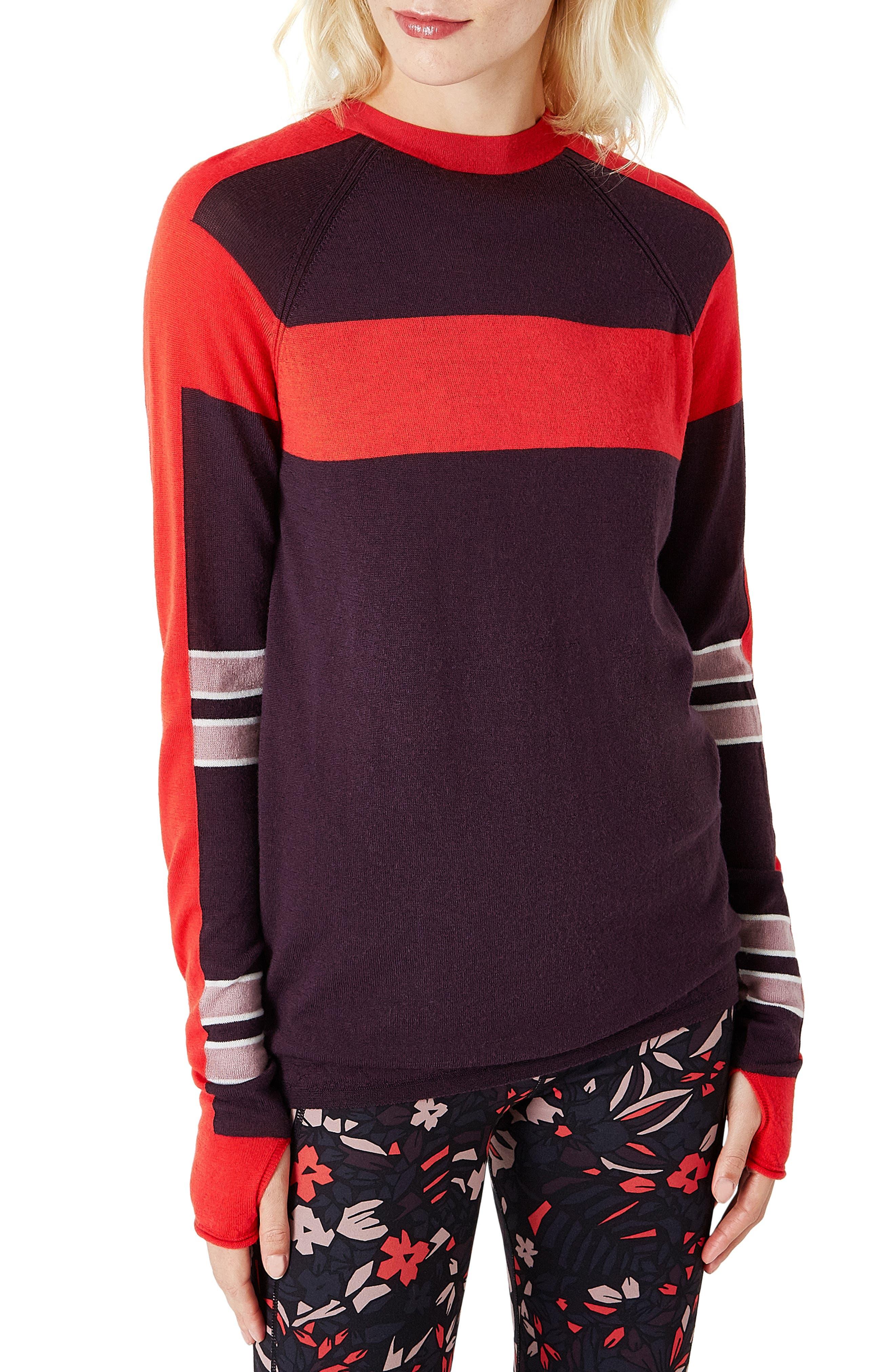 Sweaty Betty Rebel Seamless Merino Wool Sweater