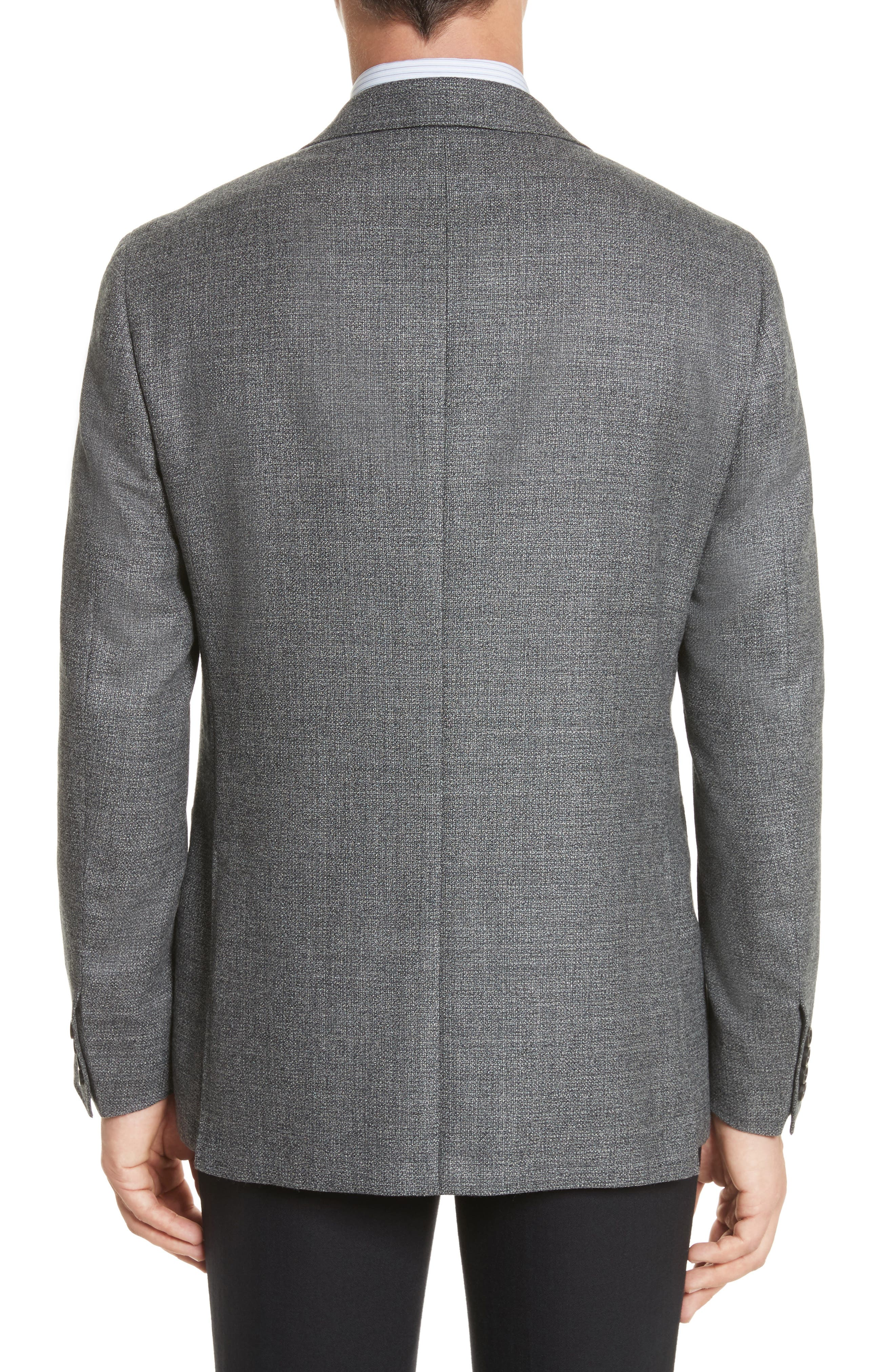 Kei Classic Fit Wool Blazer,                             Alternate thumbnail 2, color,                             030