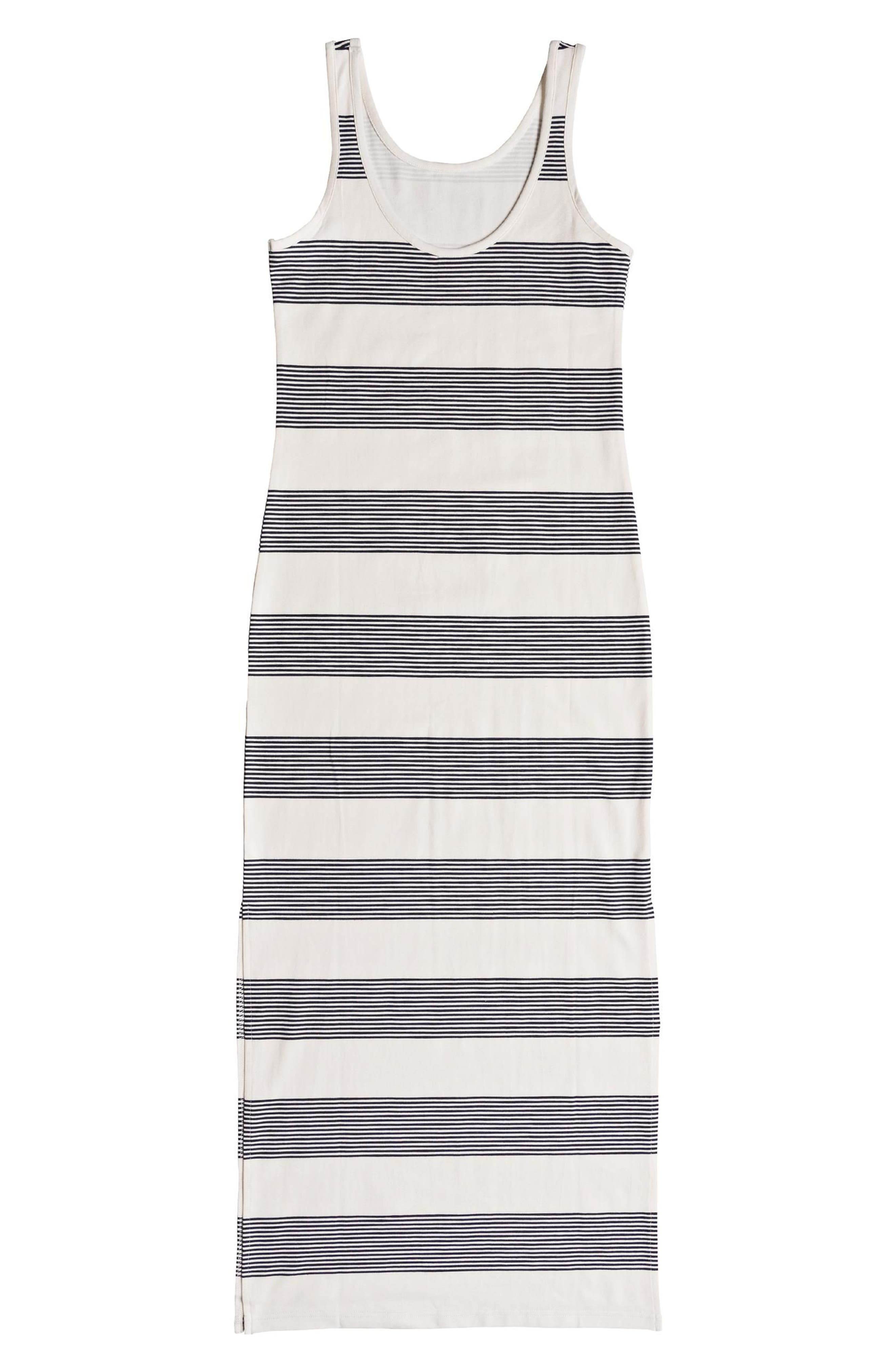 Tuba Stripe Tank Dress,                             Alternate thumbnail 5, color,                             400