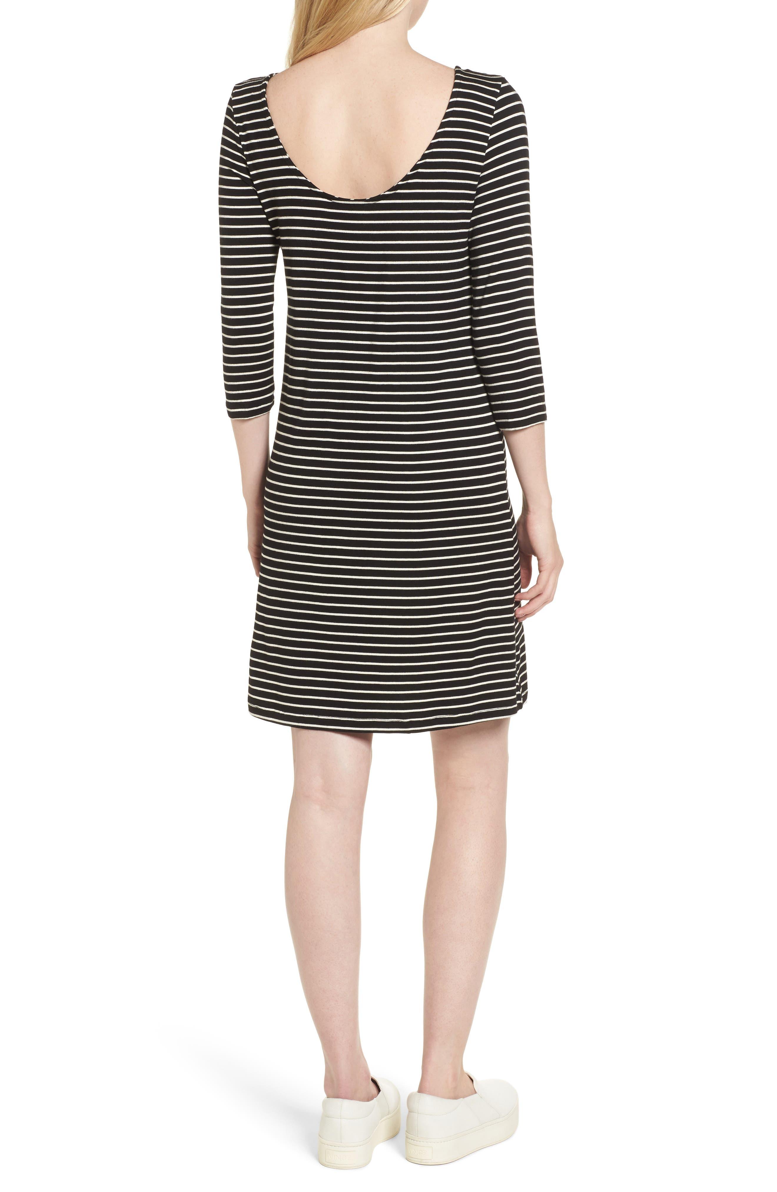 Rafaela Knit Dress,                             Alternate thumbnail 2, color,                             010