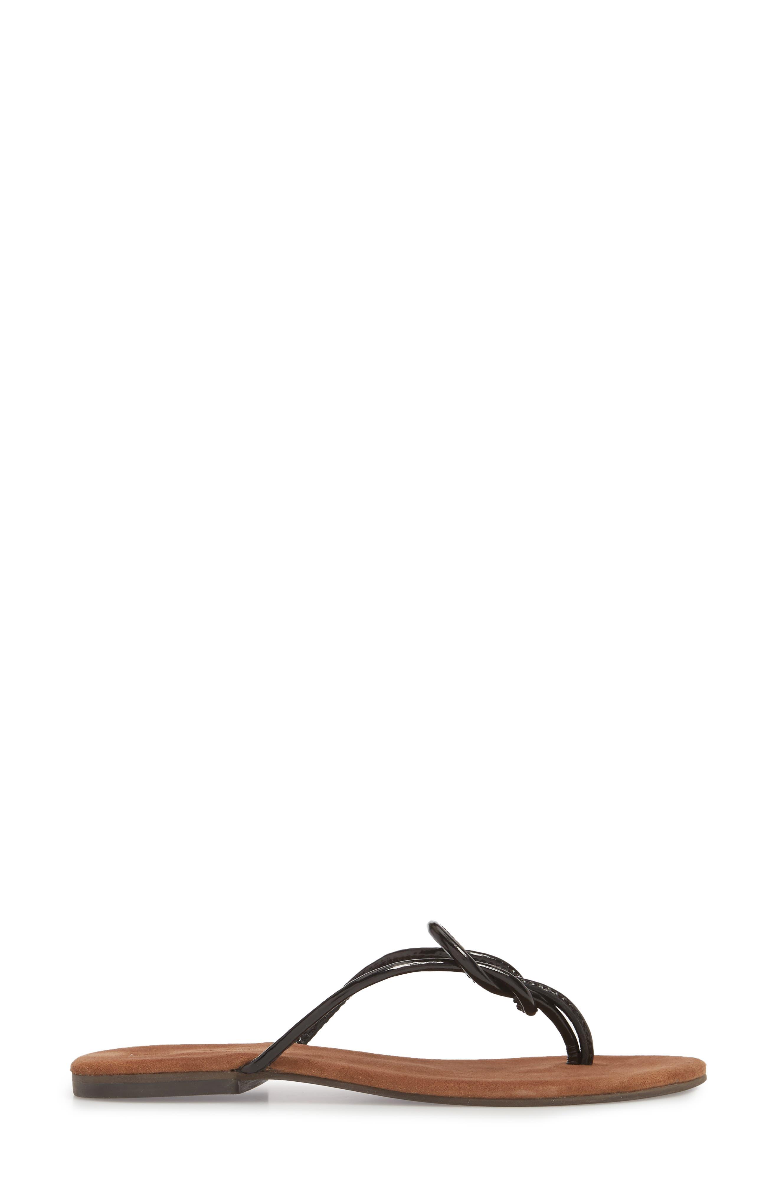 Malia Flip Flop,                             Alternate thumbnail 3, color,                             009