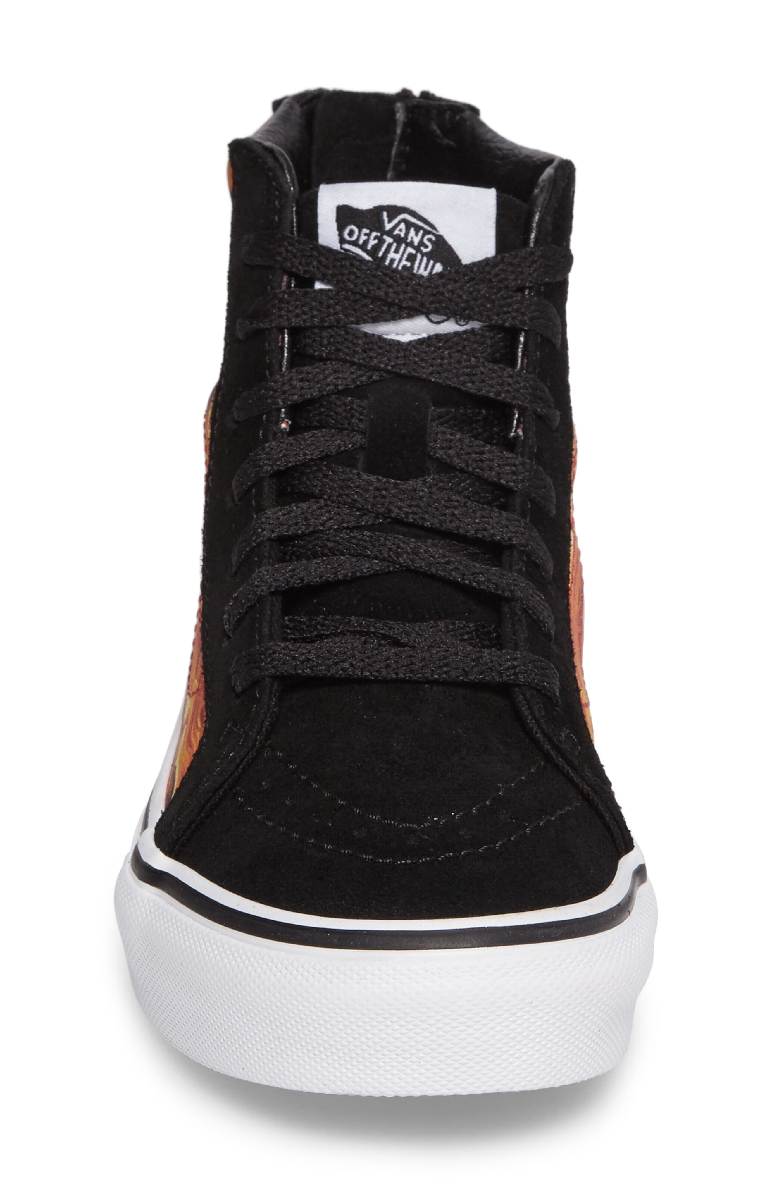 SK8-Hi Dragon Zip Sneaker,                             Alternate thumbnail 4, color,