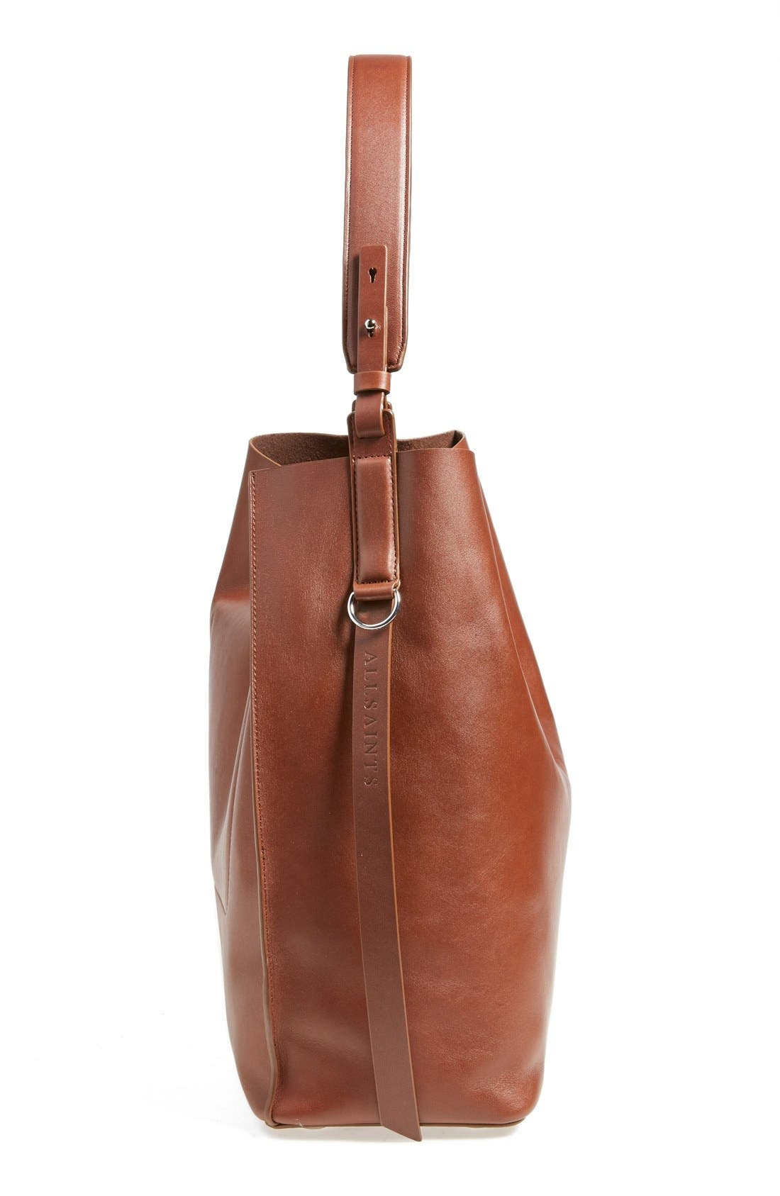'Paradise North/South' Calfskin Leather Tote,                             Alternate thumbnail 43, color,
