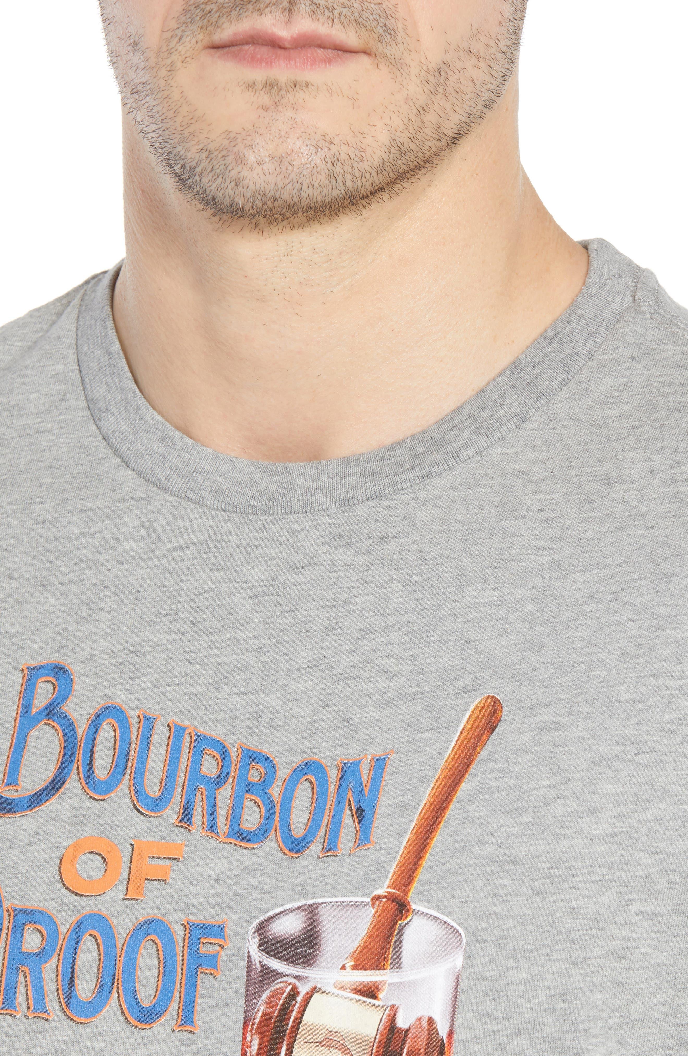 Bourbon of Proof Graphic T-Shirt,                             Alternate thumbnail 4, color,                             050