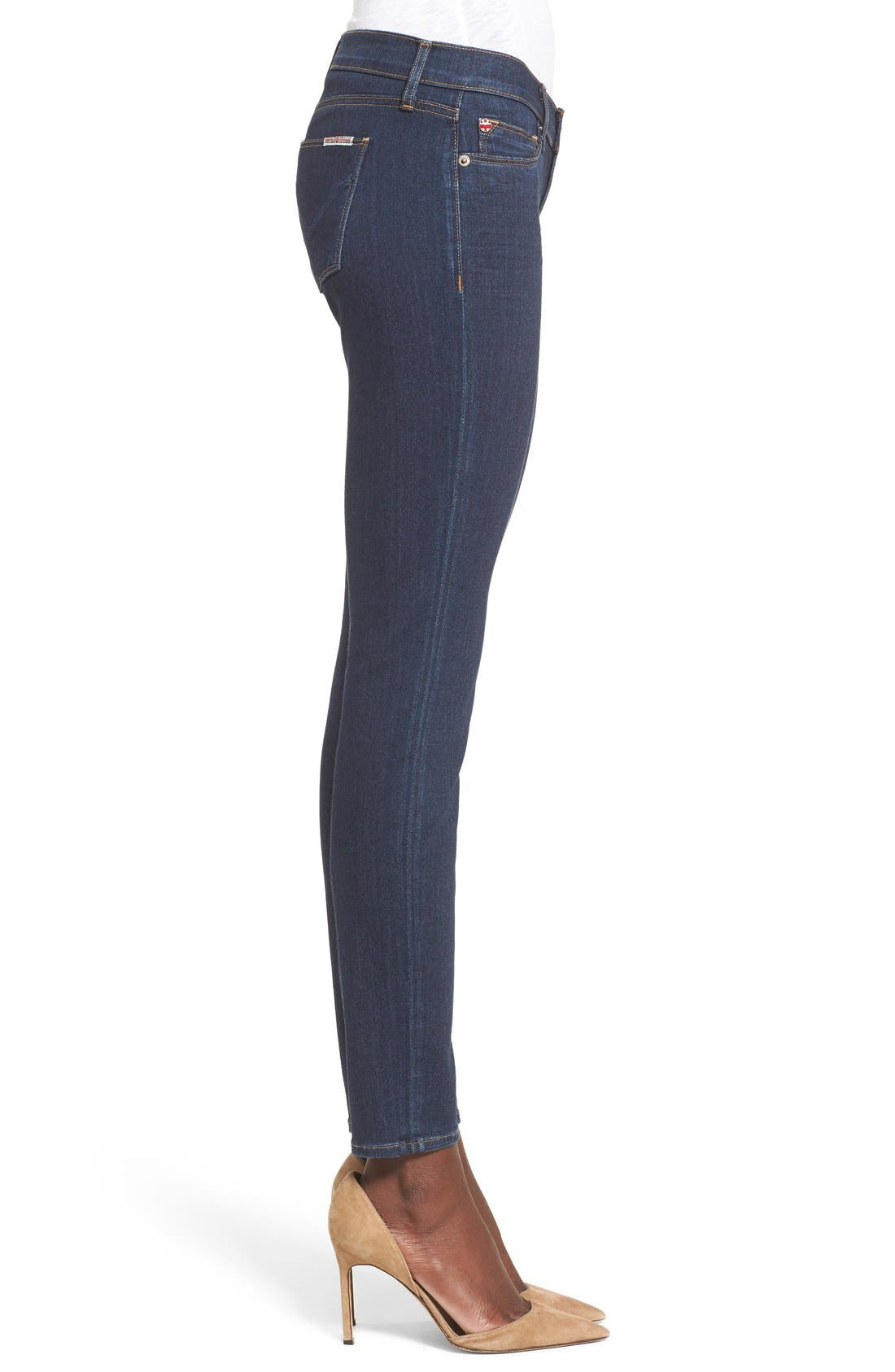 'Krista' Super Skinny Jeans,                             Alternate thumbnail 3, color,                             408