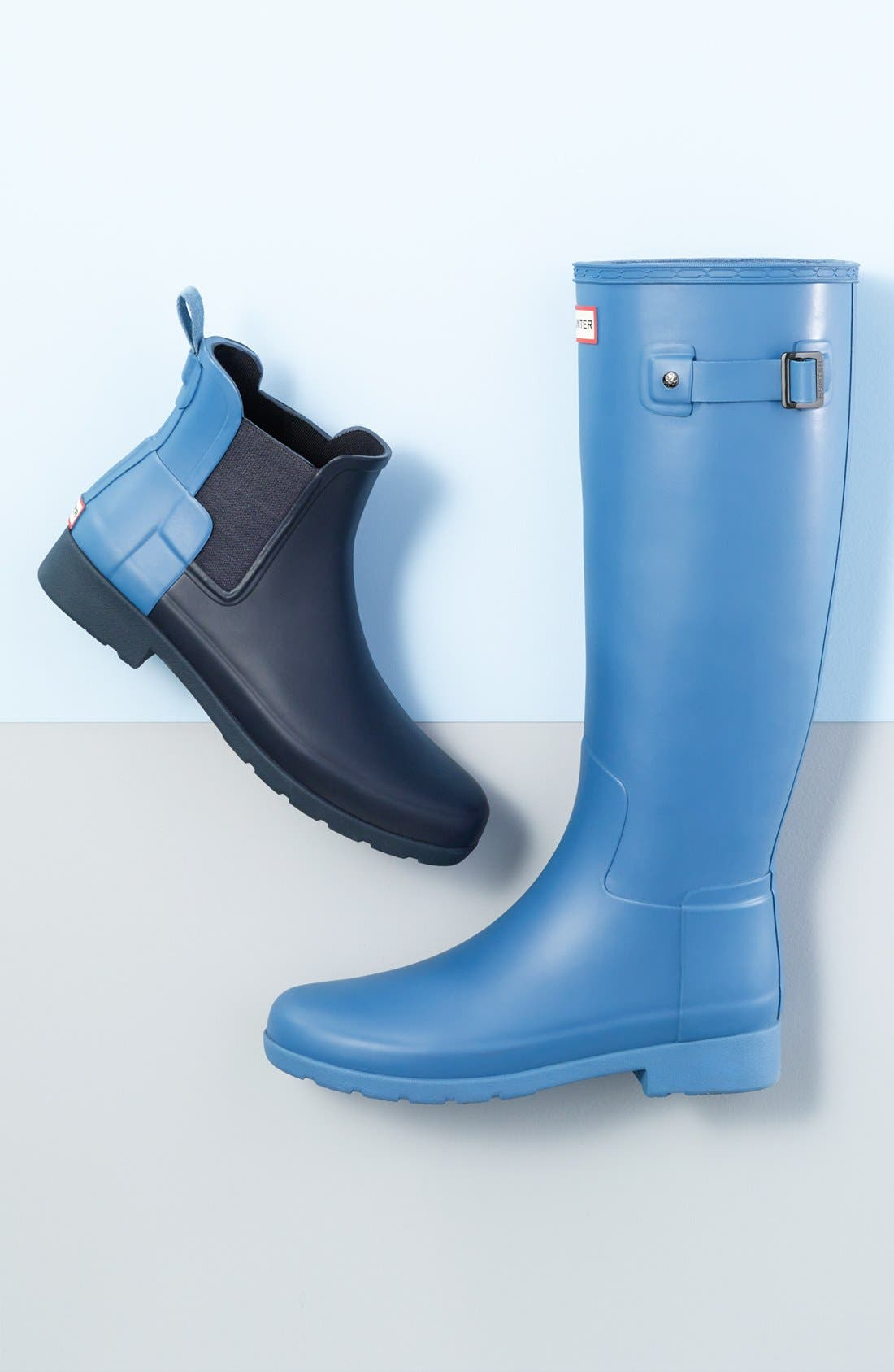 Original Refined Rain Boot,                             Alternate thumbnail 7, color,                             BLACK