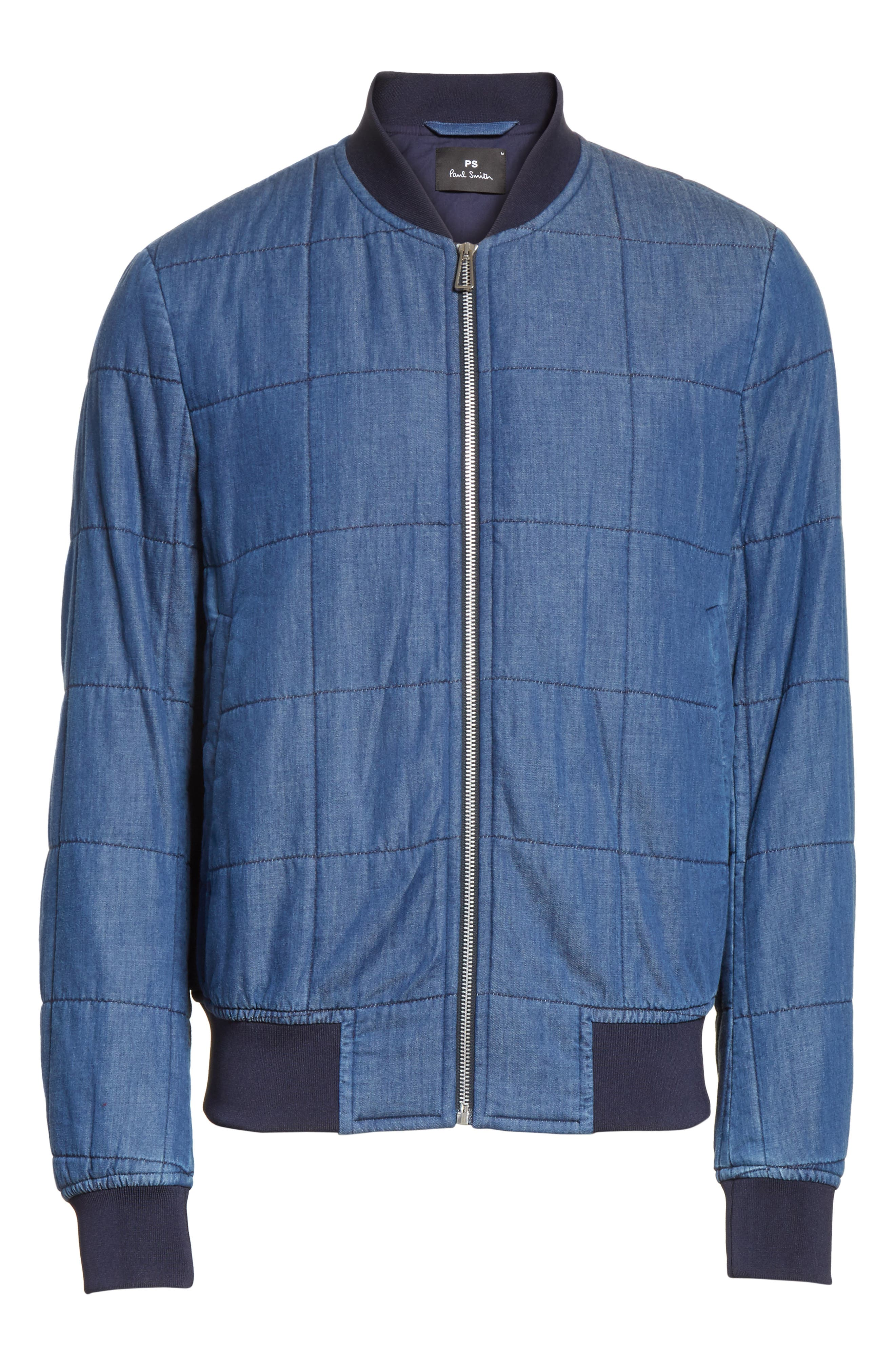 Quilted Bomber Jacket,                             Alternate thumbnail 5, color,                             415