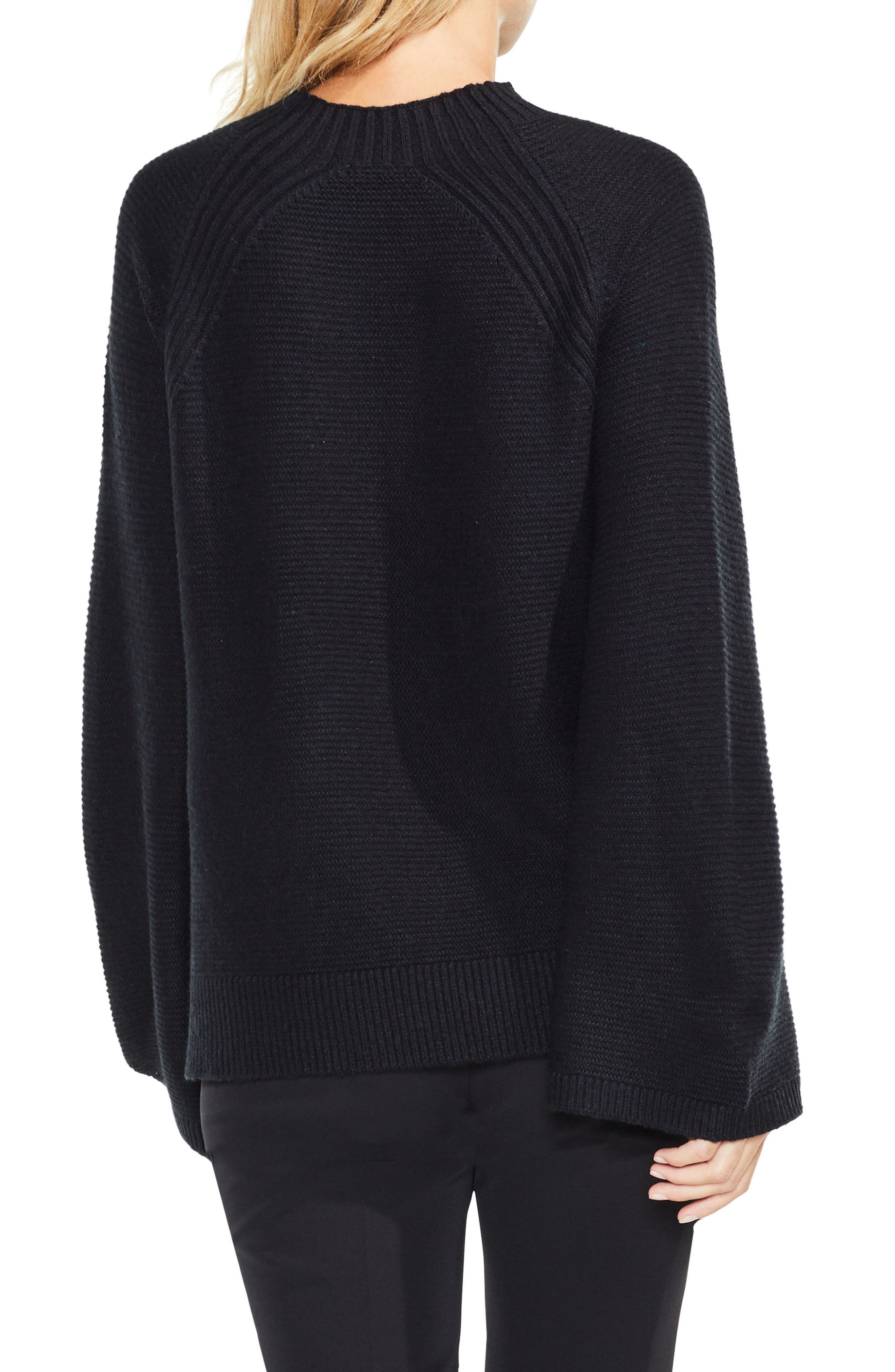 Bell Sleeve Sweater,                             Alternate thumbnail 2, color,                             006
