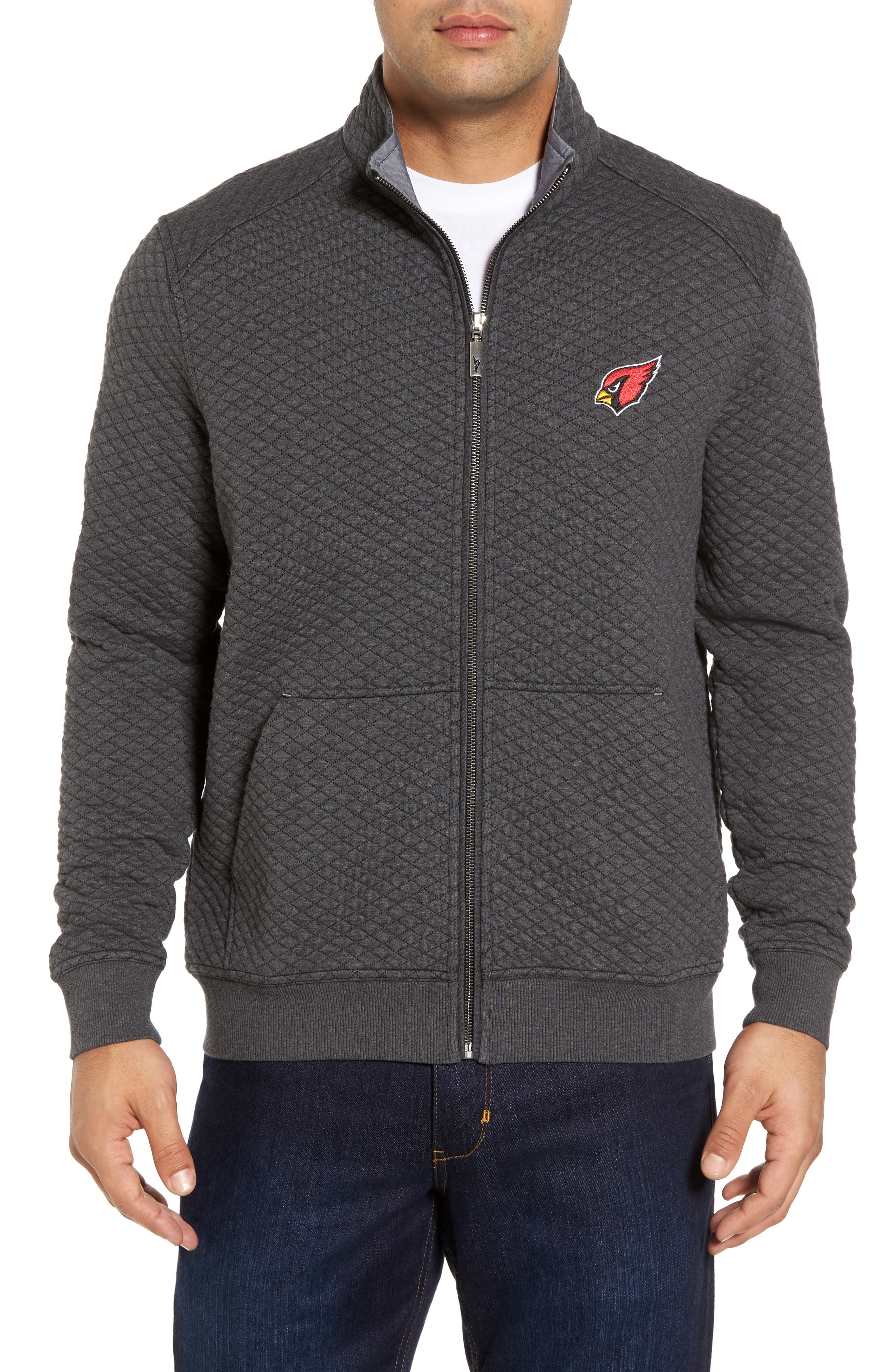 NFL Quiltessential Full Zip Sweatshirt,                             Main thumbnail 2, color,