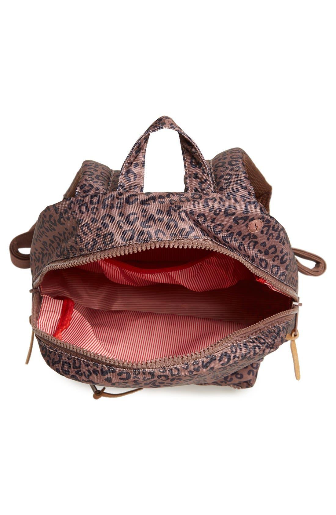 'Settlement - Leopard Print' Backpack,                             Alternate thumbnail 2, color,                             001
