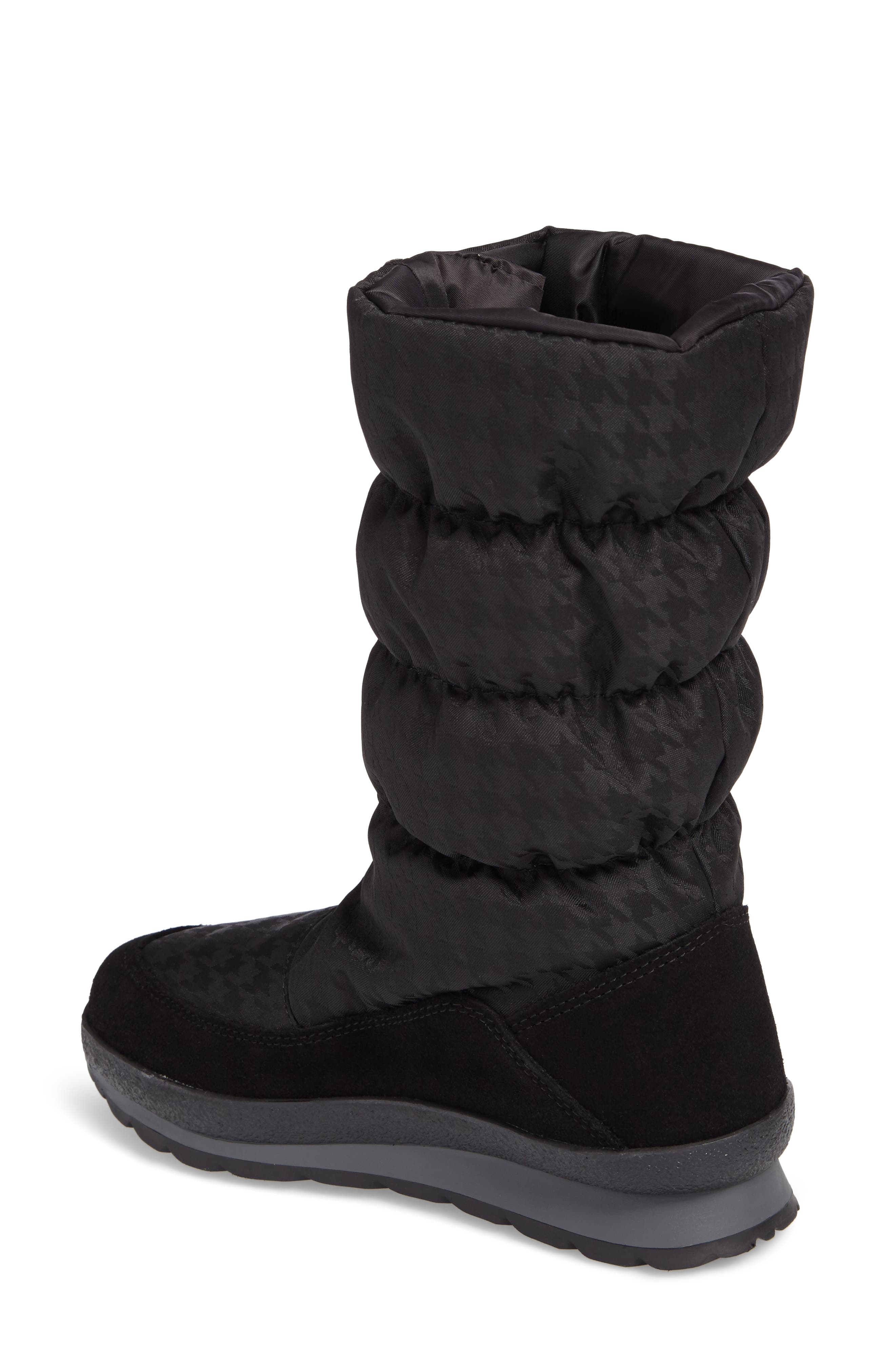 Cervina Waterproof Zip-Up Channel Quilted Boot,                             Alternate thumbnail 6, color,