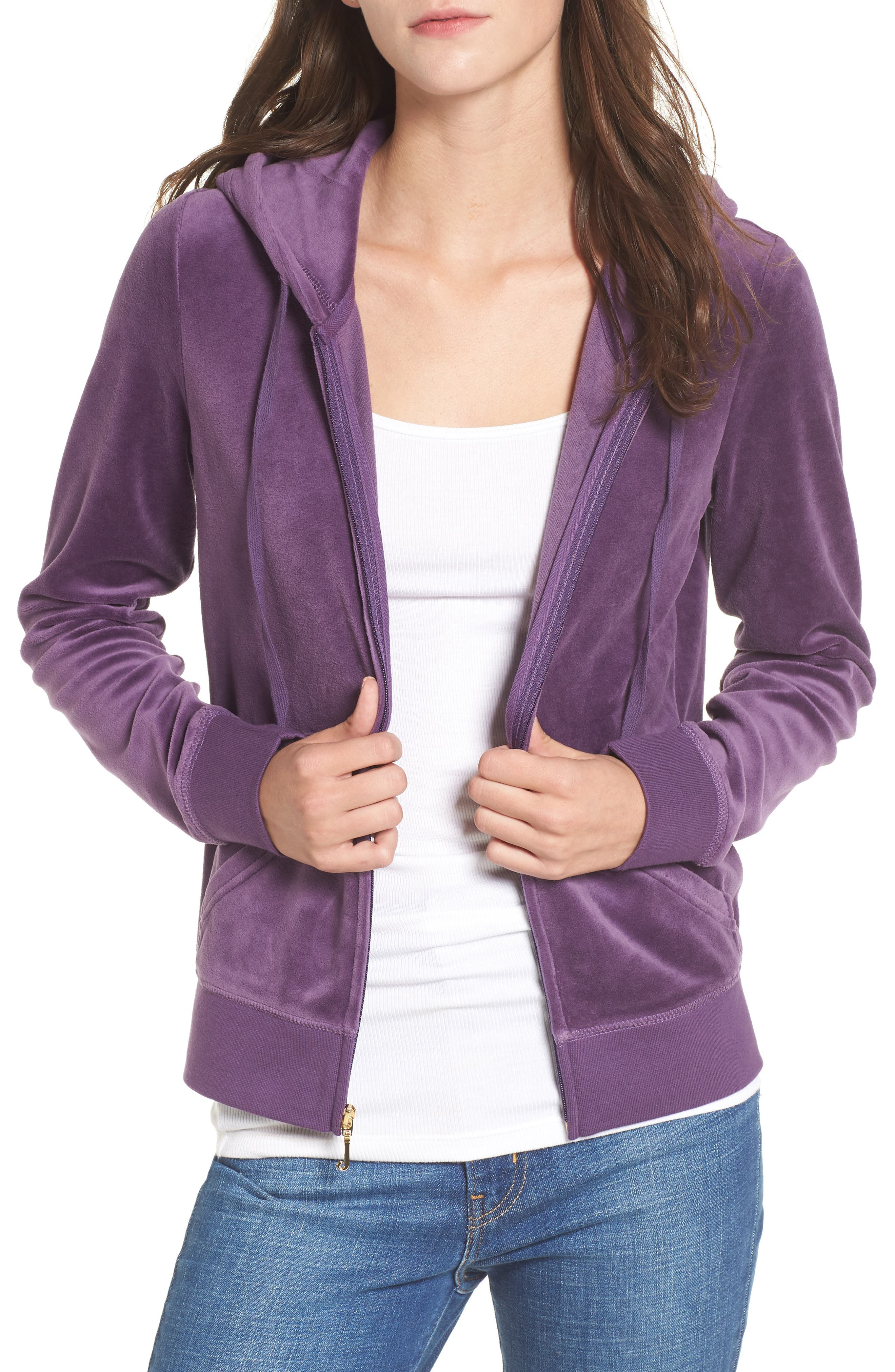 Robertson Velour Hoodie,                         Main,                         color, 511