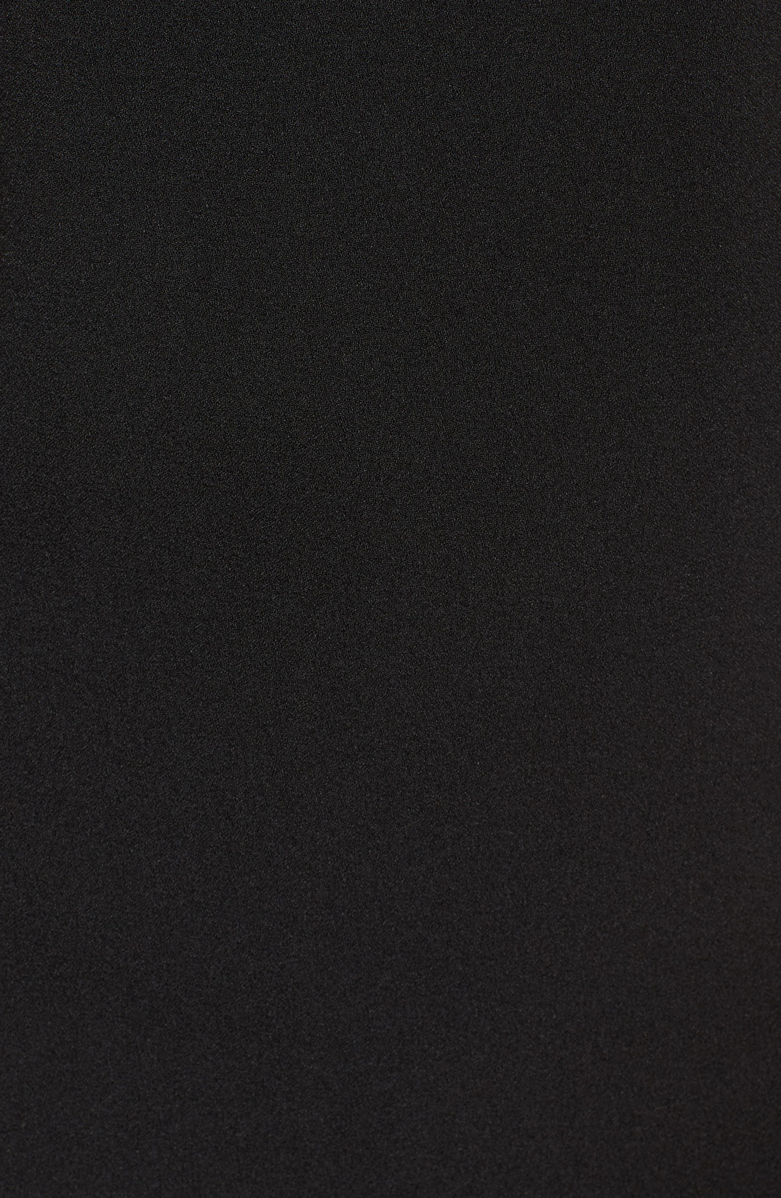 Lace Ruffle Sheath Dress,                             Alternate thumbnail 5, color,