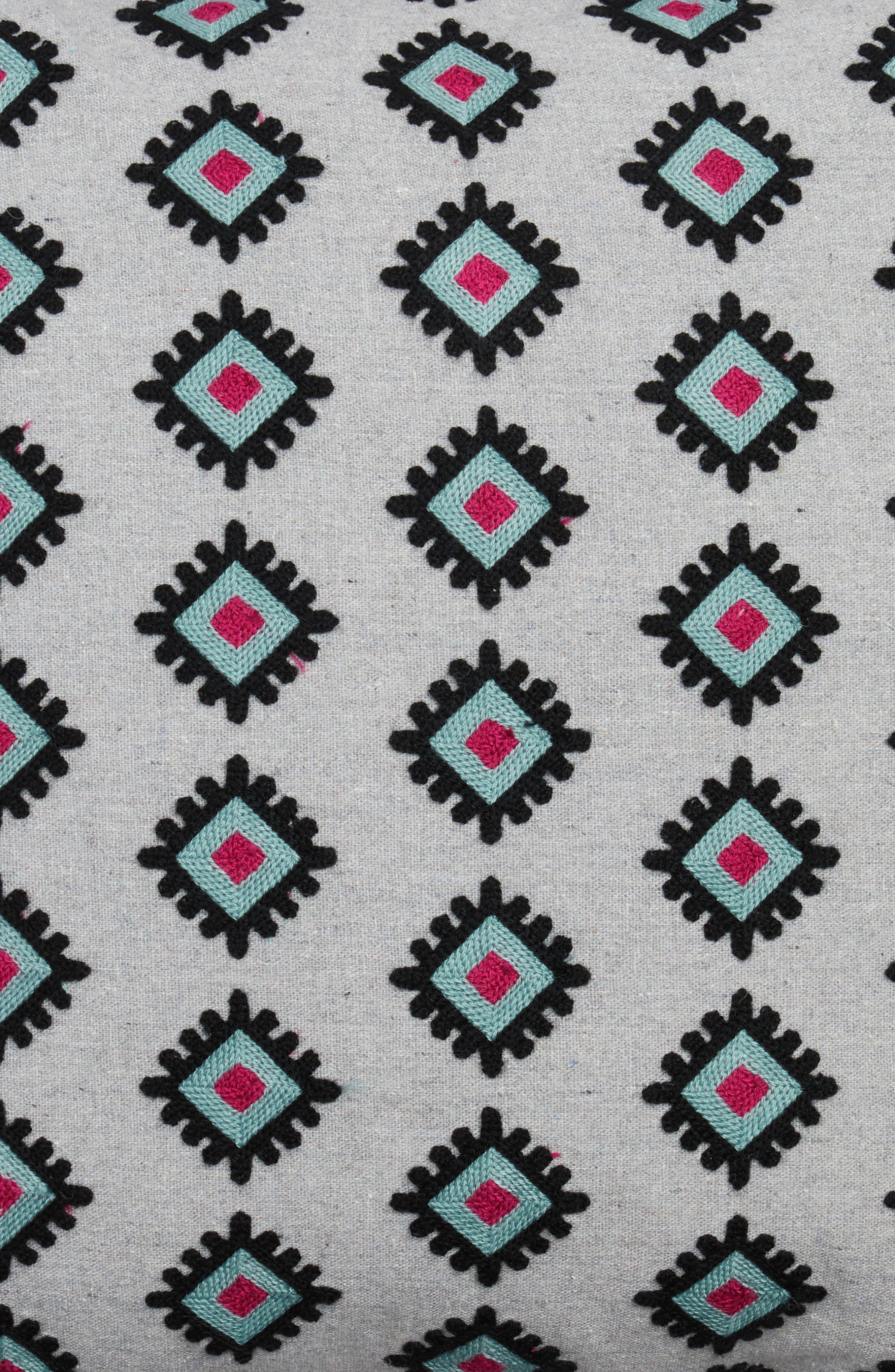 Nala Towel Stitch Accent Pillow,                             Alternate thumbnail 3, color,
