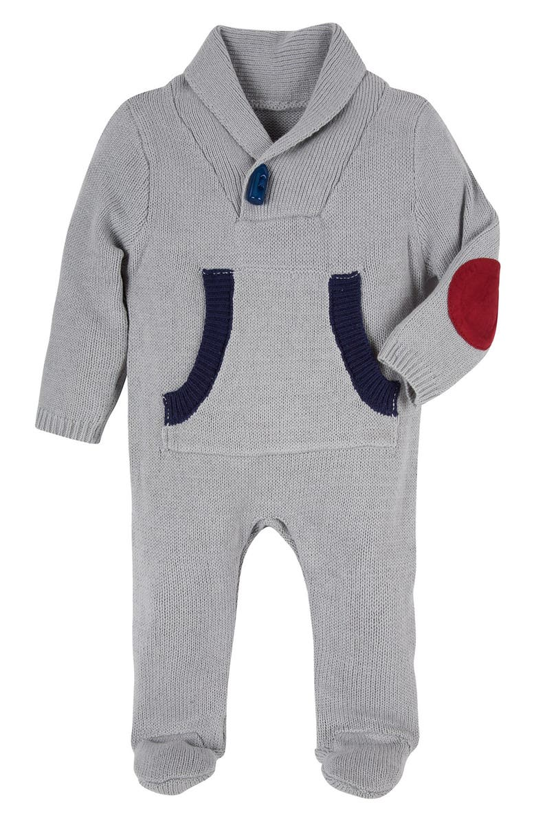 d4232531256d Andy   Evan Shawl Collar Toggle Sweater One-Piece (Baby Boys ...