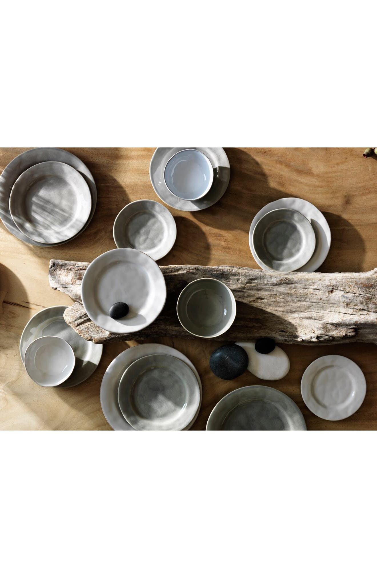 Puro Medium Ceramic Serving Bowl,                             Alternate thumbnail 2, color,                             MIST GREY CRACKLE